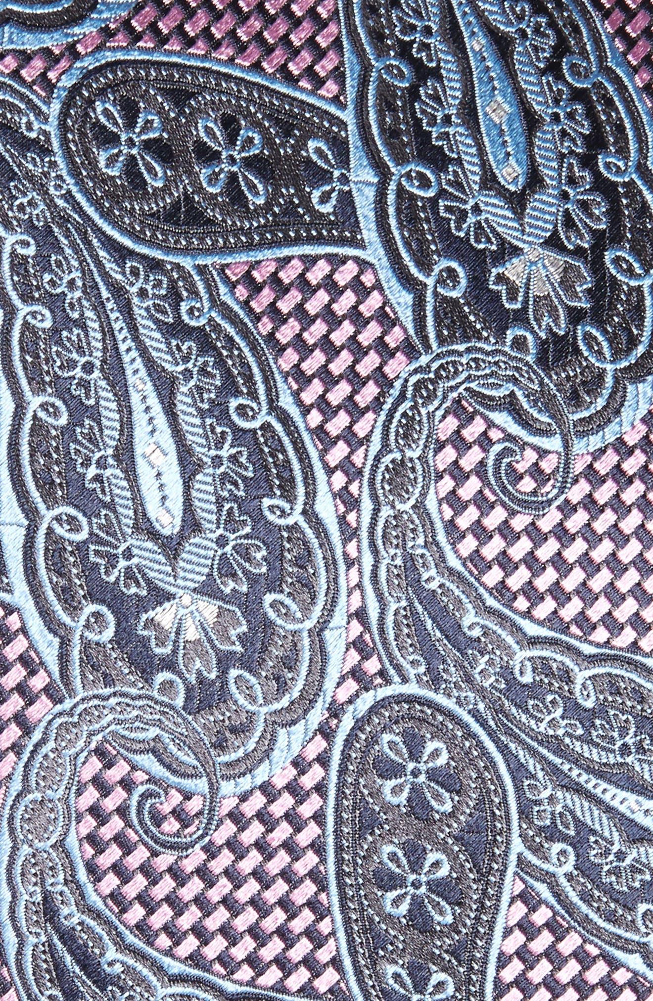Alternate Image 2  - Ermenegildo Zegna Paisley Silk Tie (X-Long)