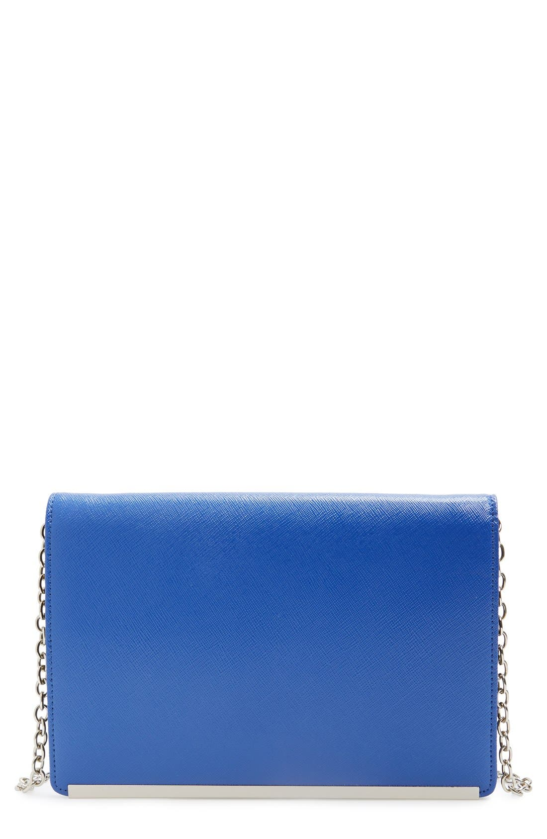 Alternate Image 1 Selected - Halogen® Crossbody Clutch Wallet