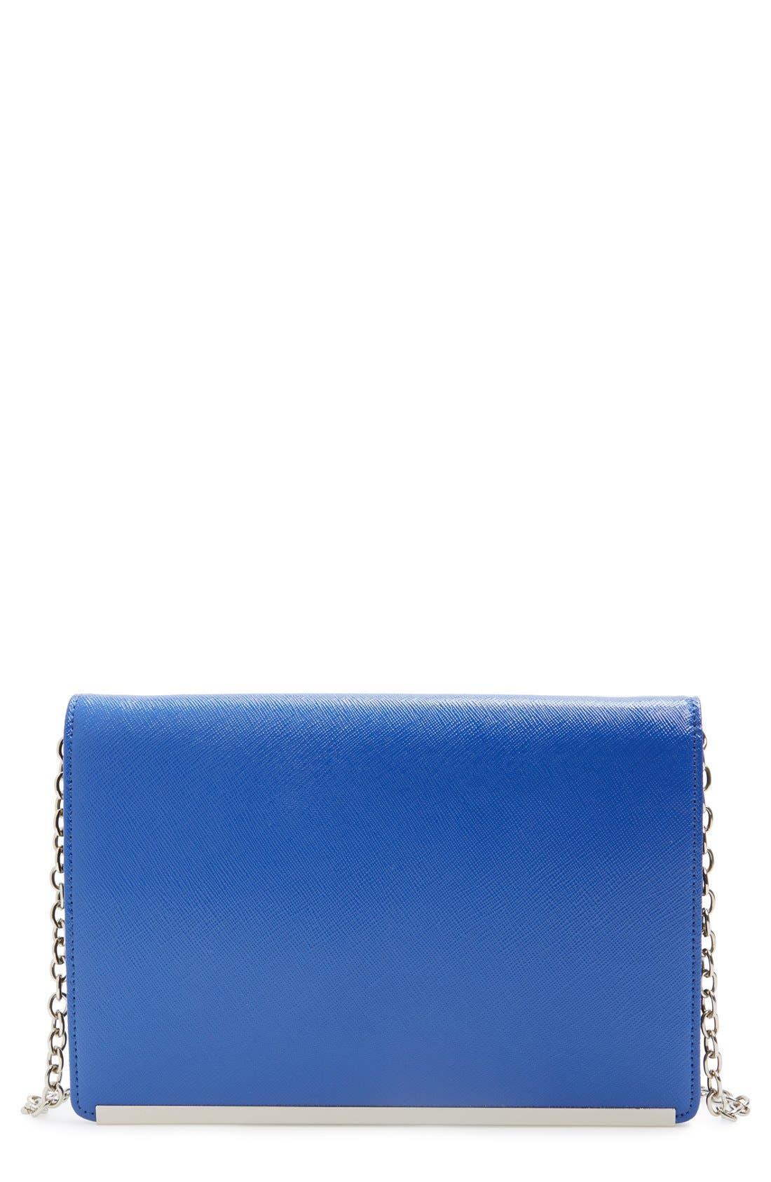 Main Image - Halogen® Crossbody Clutch Wallet