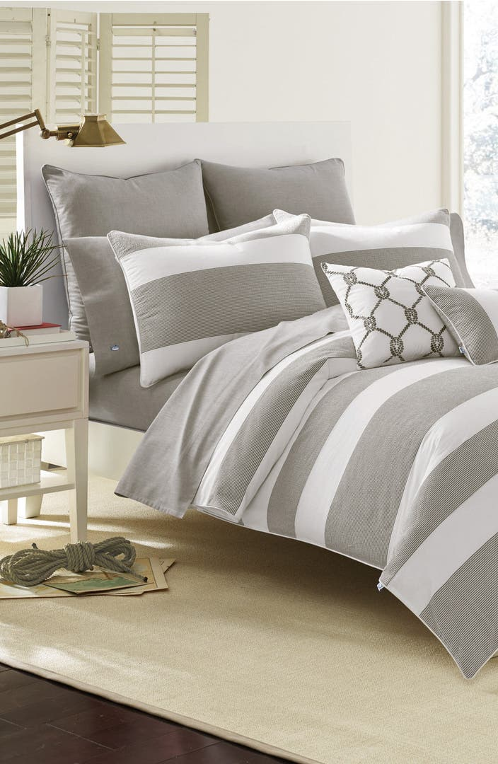 Southern tide breakwater nautical comforter sham bed for Southern tide bedding
