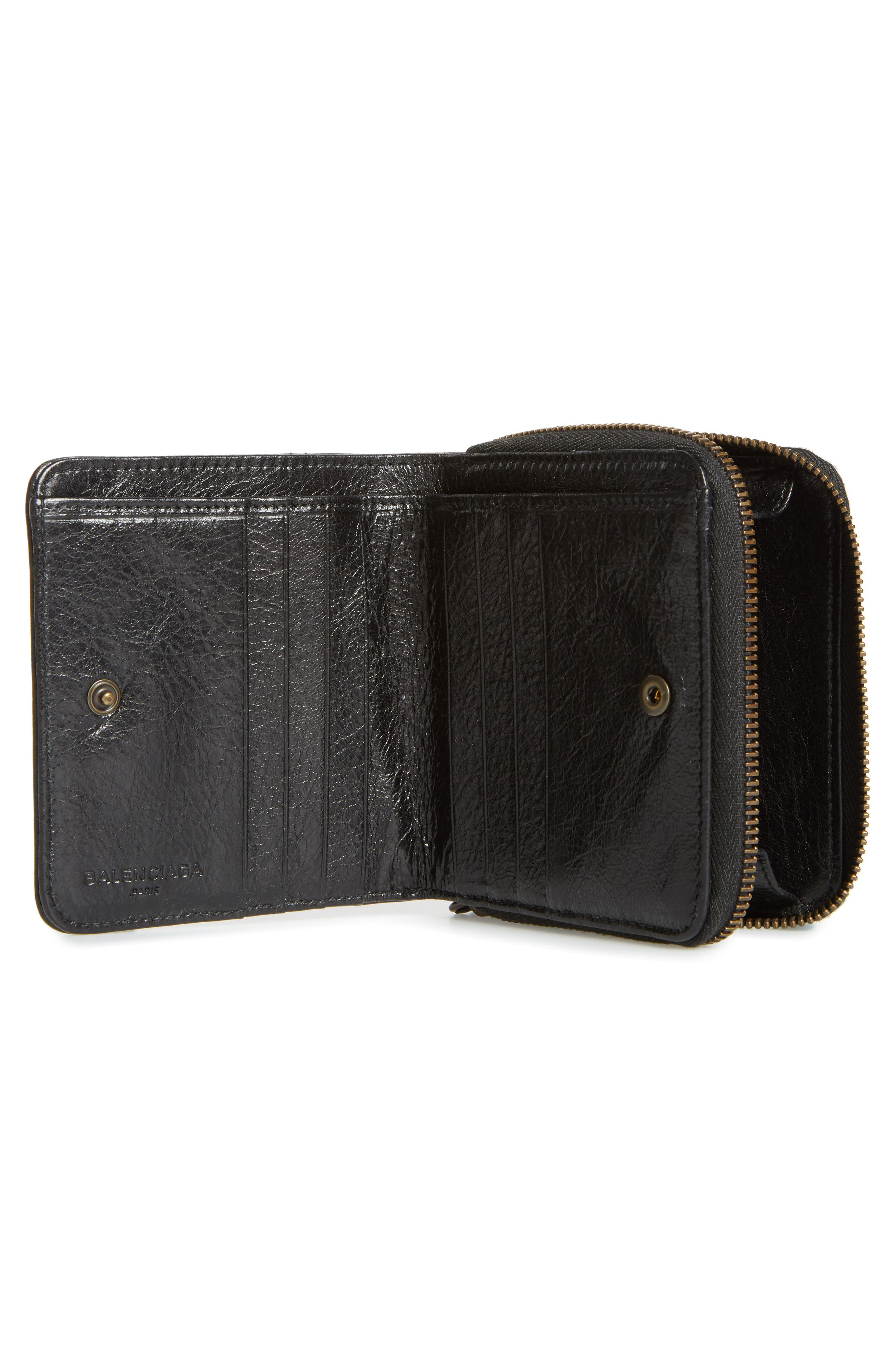 Classic Leather Bifold Wallet,                             Alternate thumbnail 2, color,                             1000 Nero