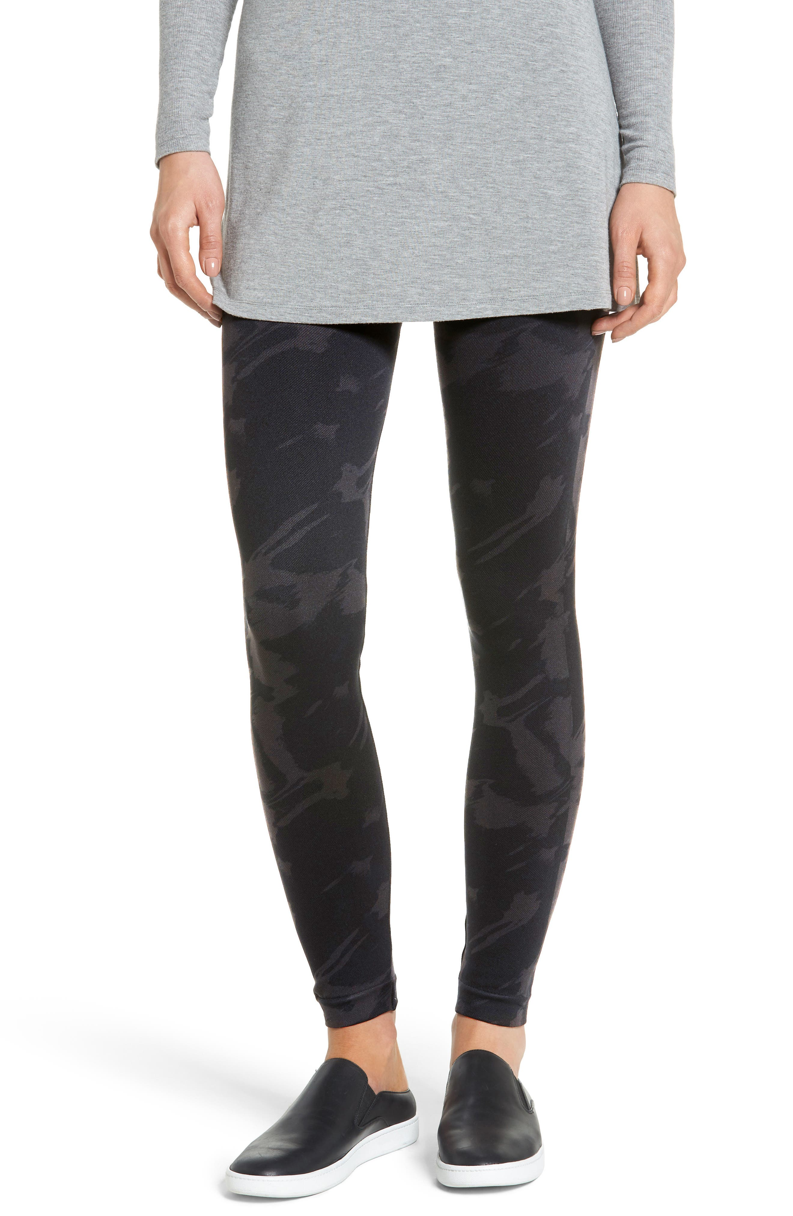 SPANX<SUP>®</SUP> Look At Me Now Seamless Print Leggings