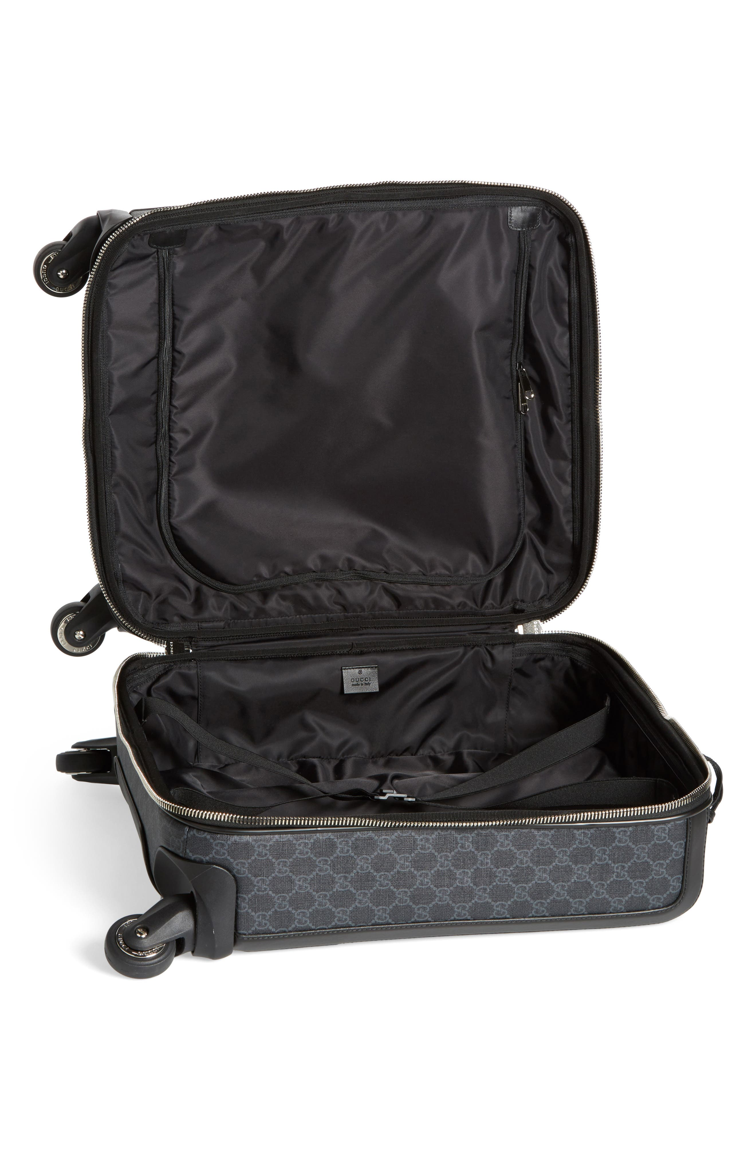 Gran Turismo Carry-On,                             Alternate thumbnail 2, color,                             Black