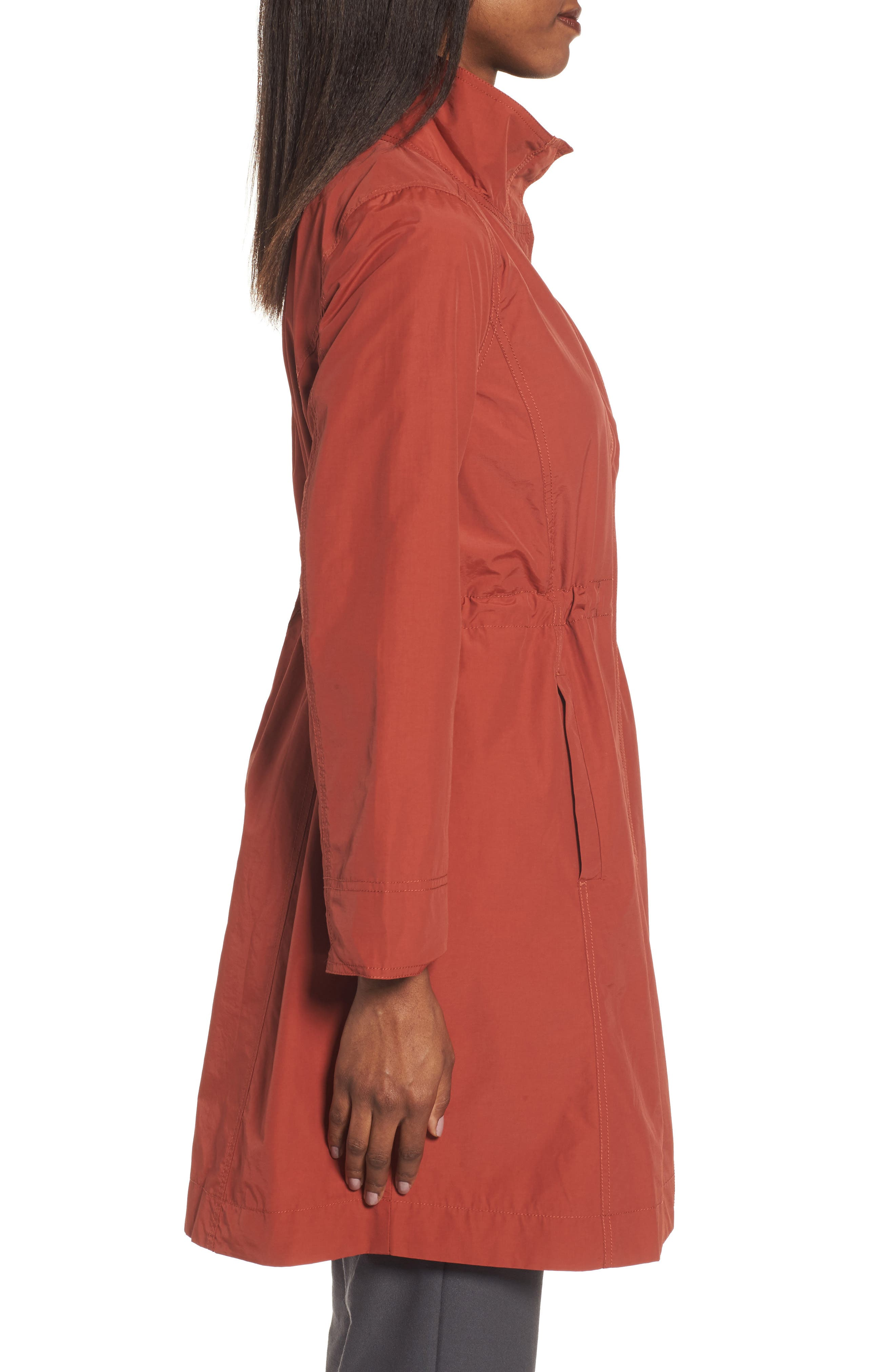 Alternate Image 3  - Eileen Fisher Long Organic Cotton Blend Jacket