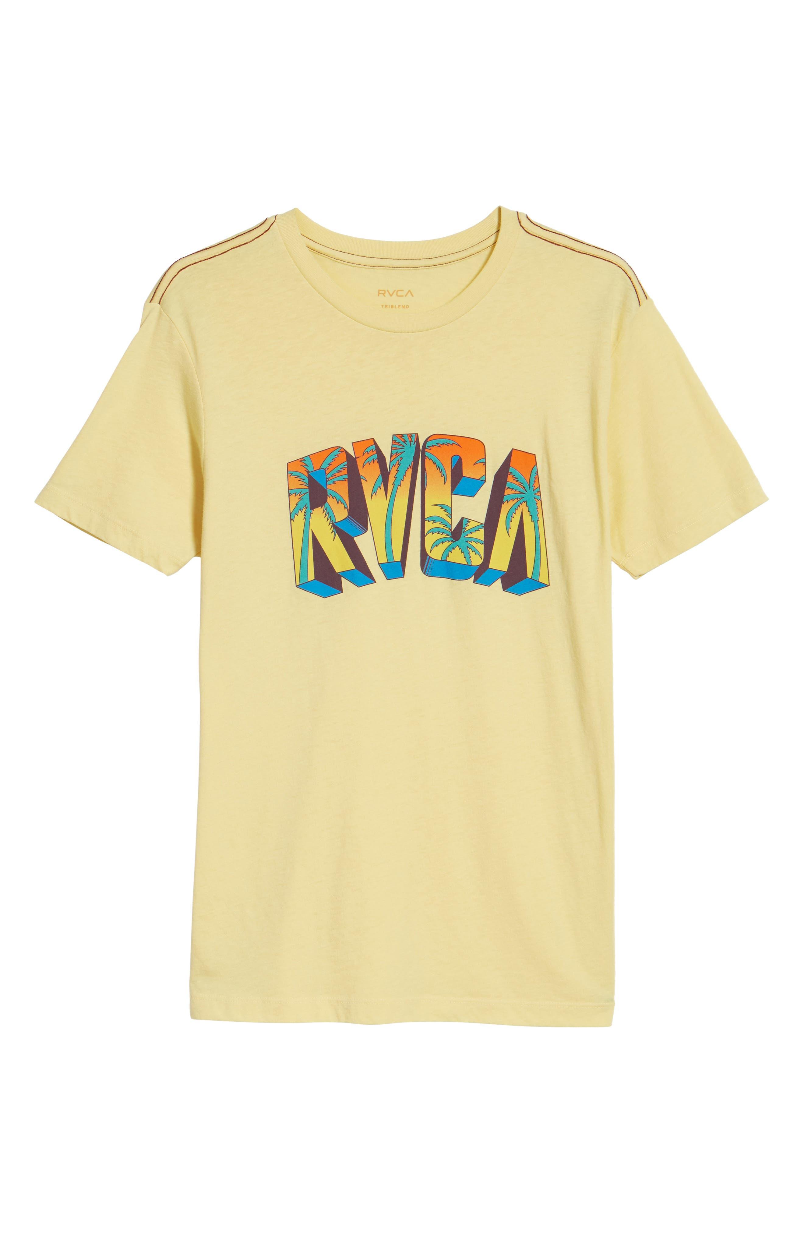 Alternate Image 6  - RVCA Block Graphic T-Shirt