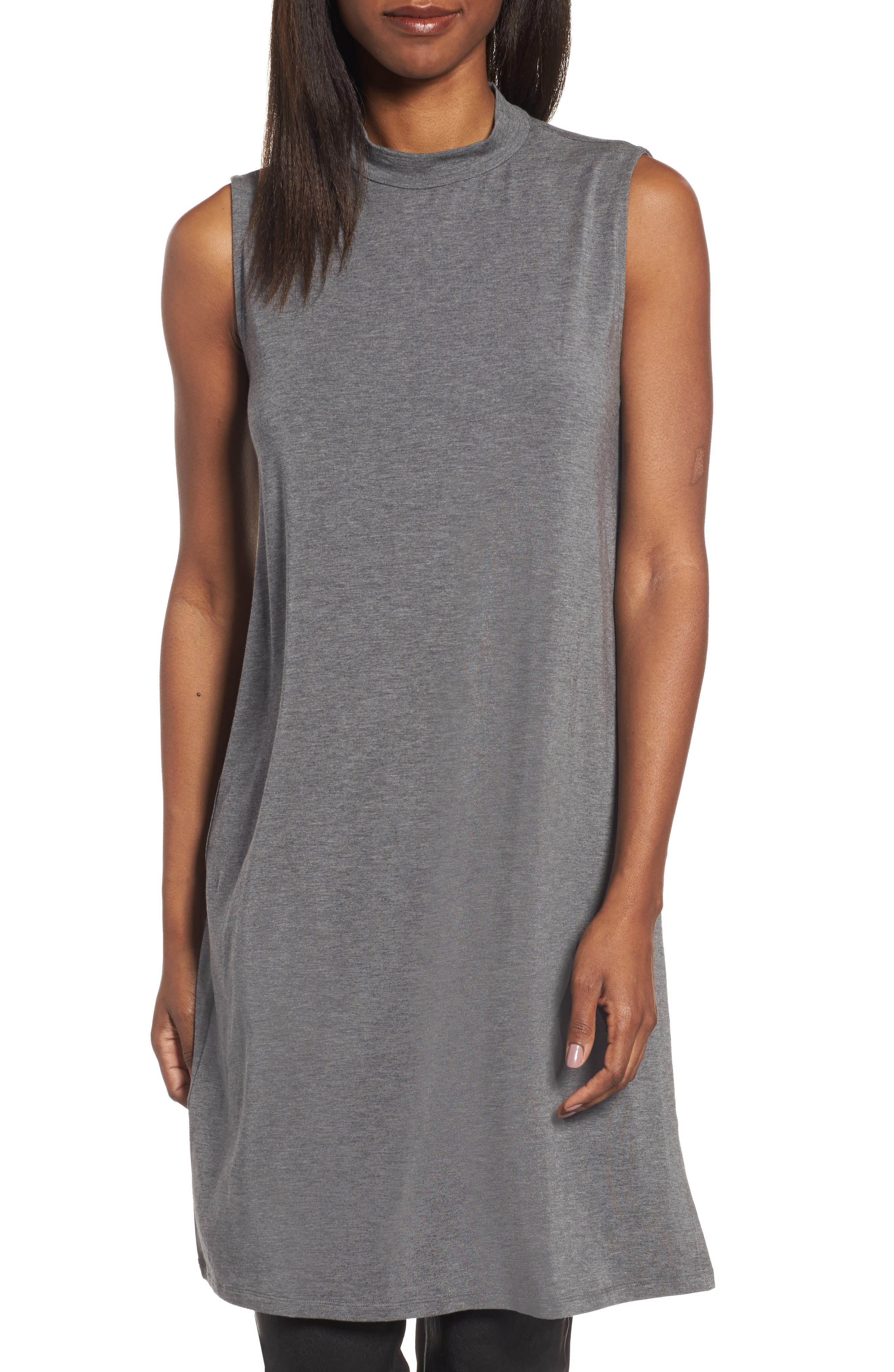 Eileen Fisher Stretch Tencel® Jersey Tunic