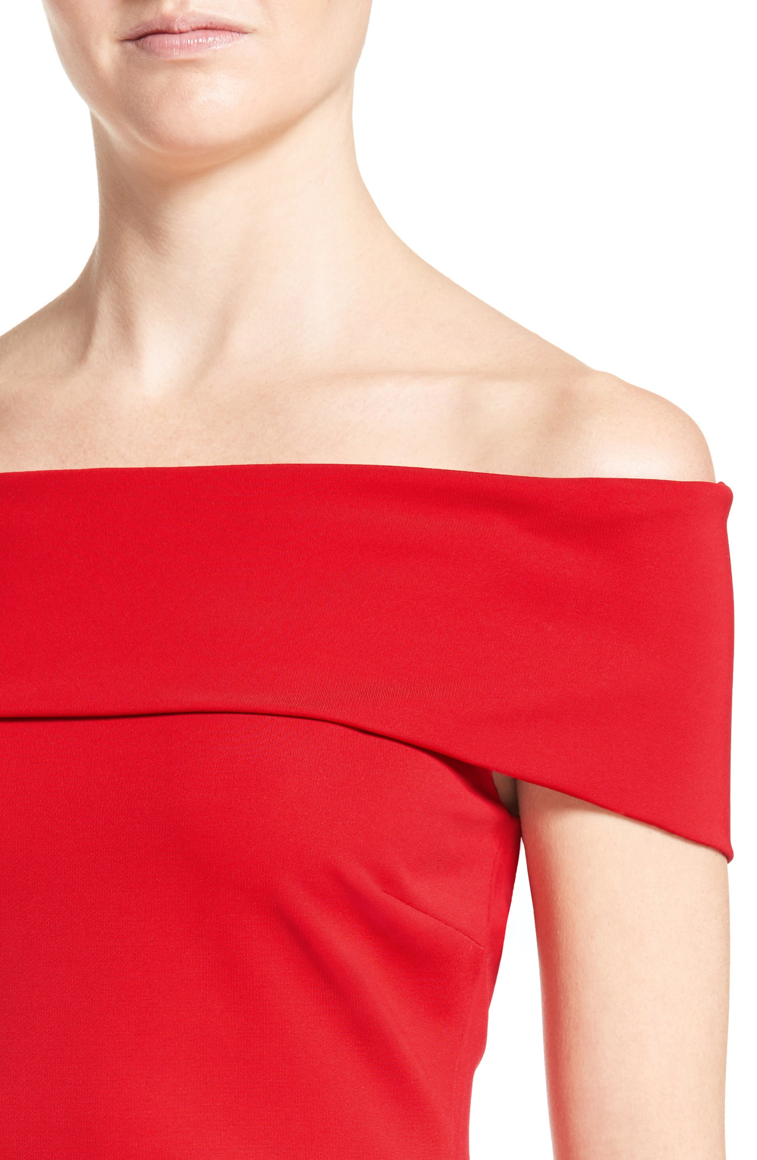 Alternate Image 5  - Cushnie et Ochs Off the Shoulder Pencil Dress