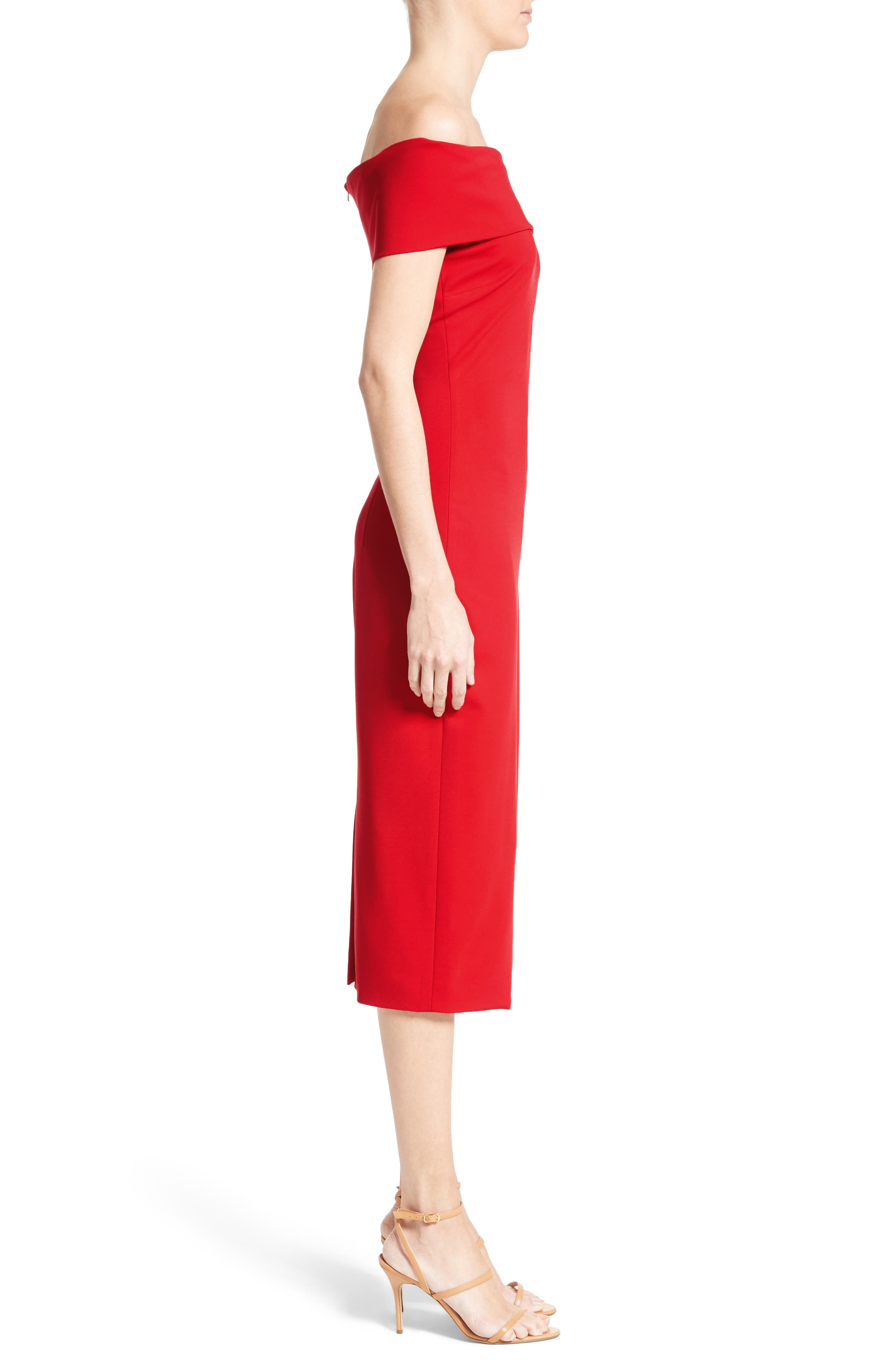 Alternate Image 4  - Cushnie et Ochs Off the Shoulder Pencil Dress