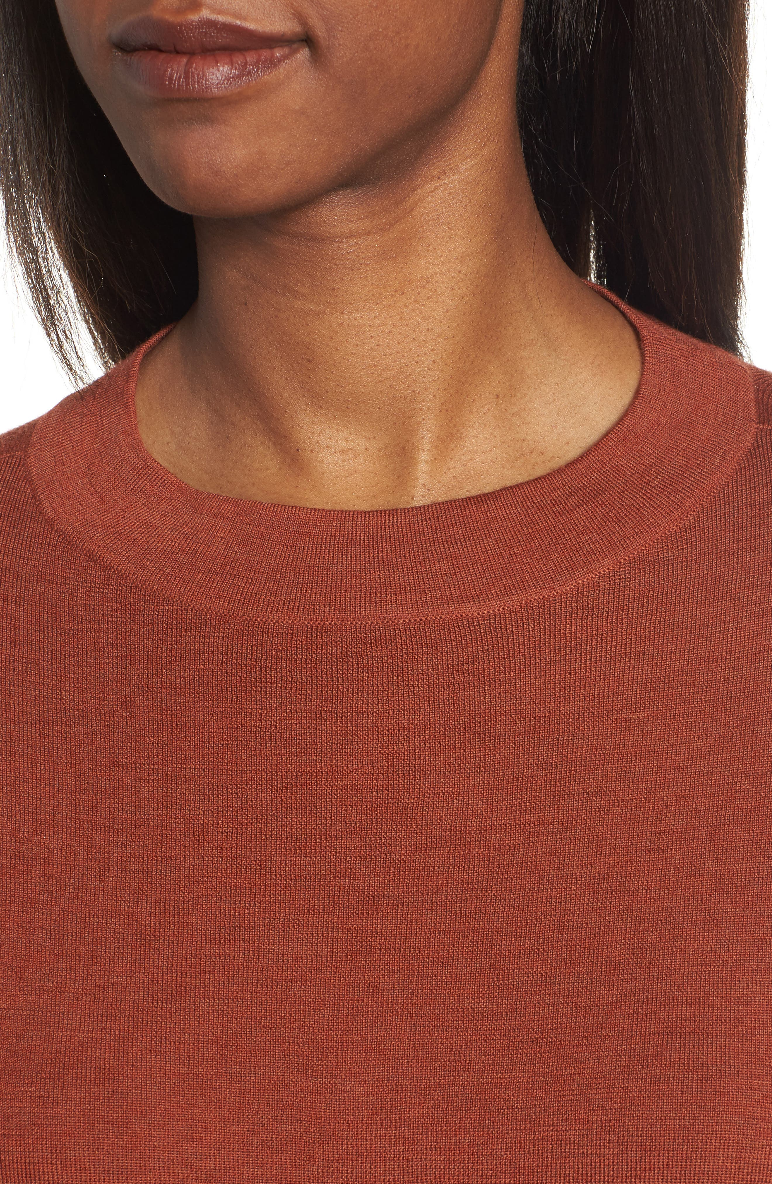 Alternate Image 4  - Eileen Fisher Merino Wool Tunic