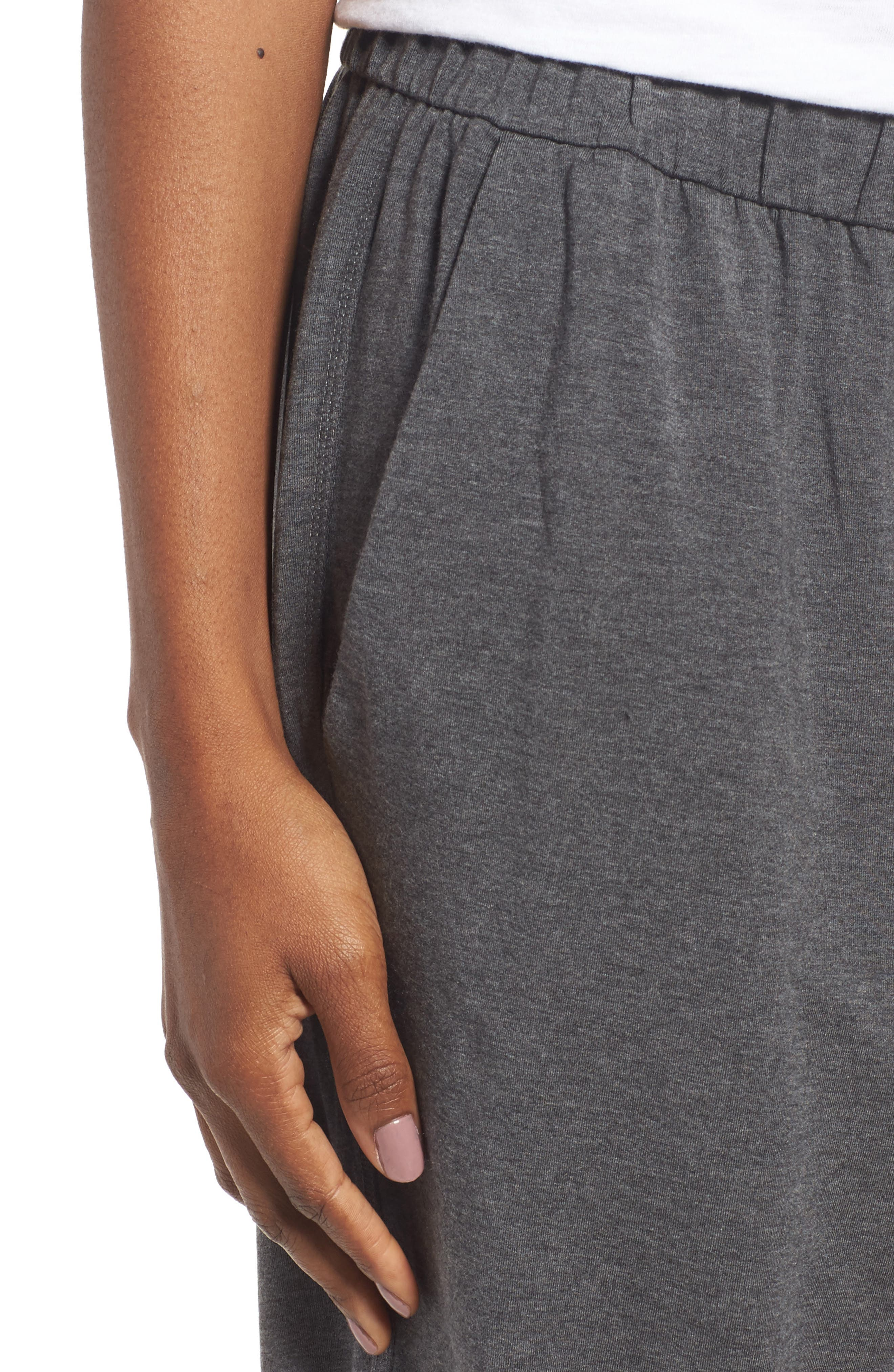 Alternate Image 3  - Eileen Fisher Slouchy Stretch Tencel® Pants
