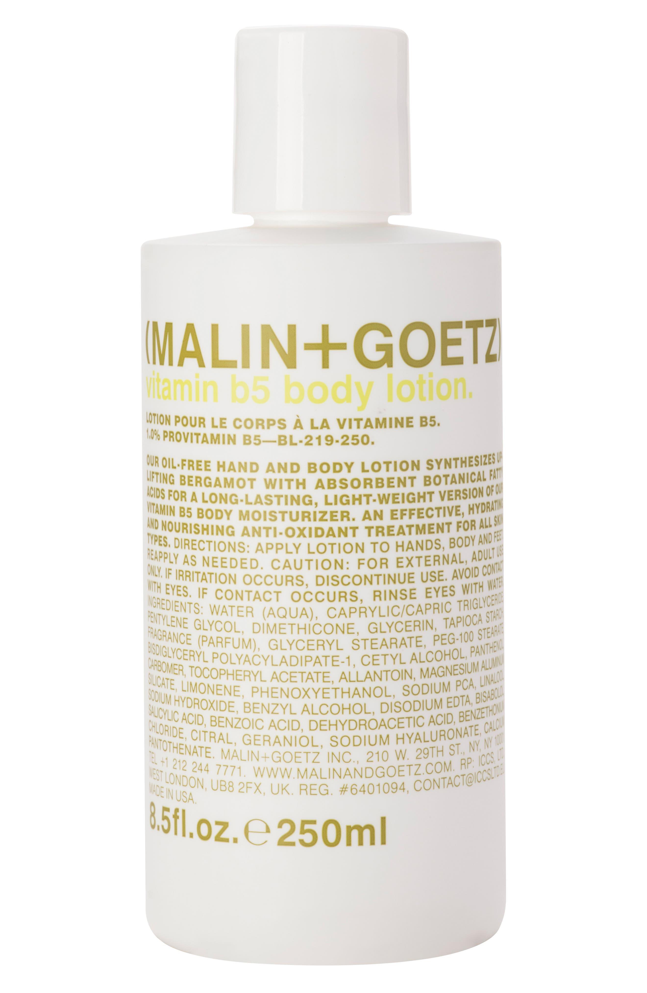 Main Image - SPACE.NK.apothecary Malin + Goetz Vitamin B5 Body Lotion