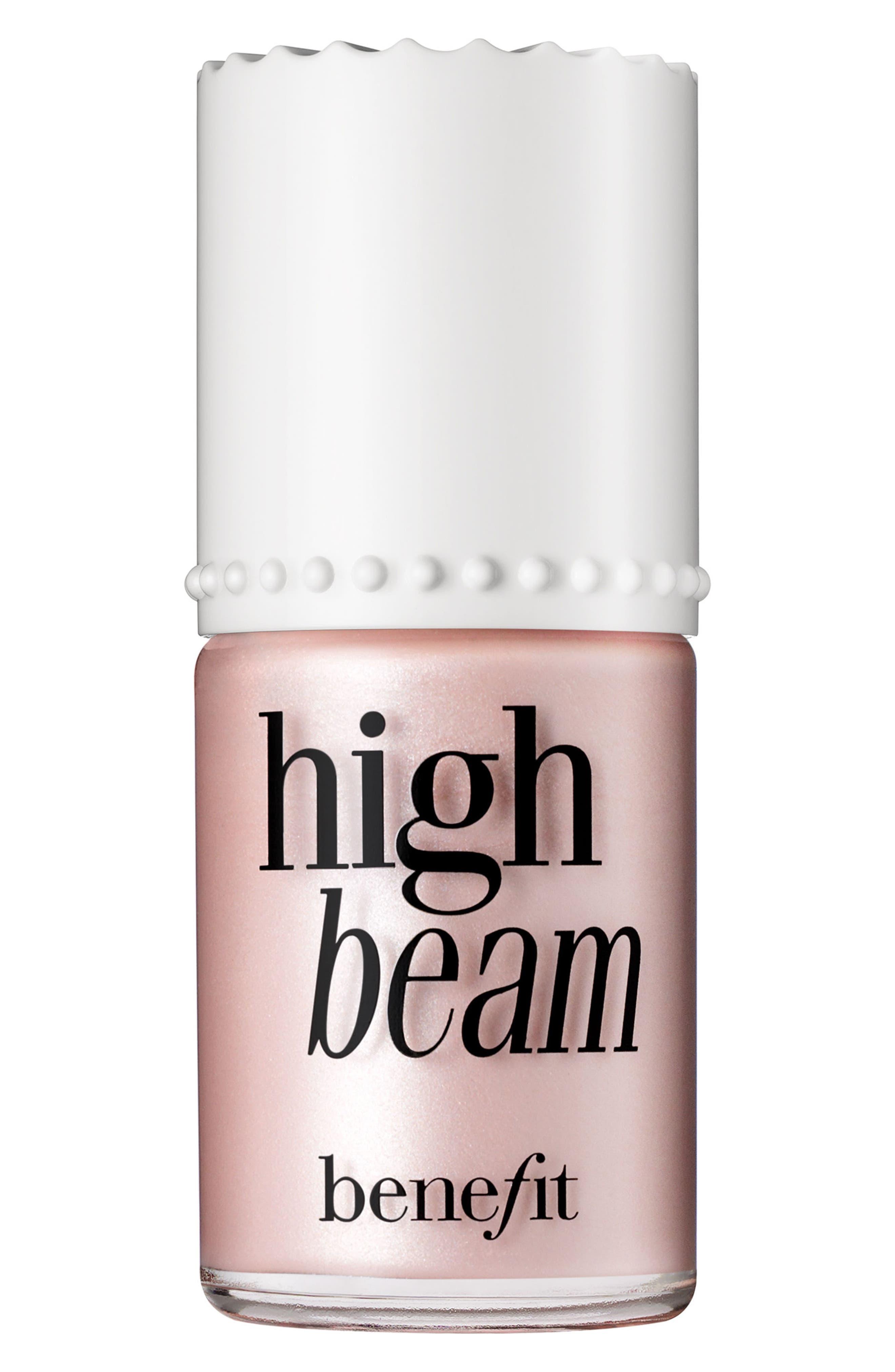 Alternate Image 2  - Benefit High Beam Satiny Pink Liquid Highlighter