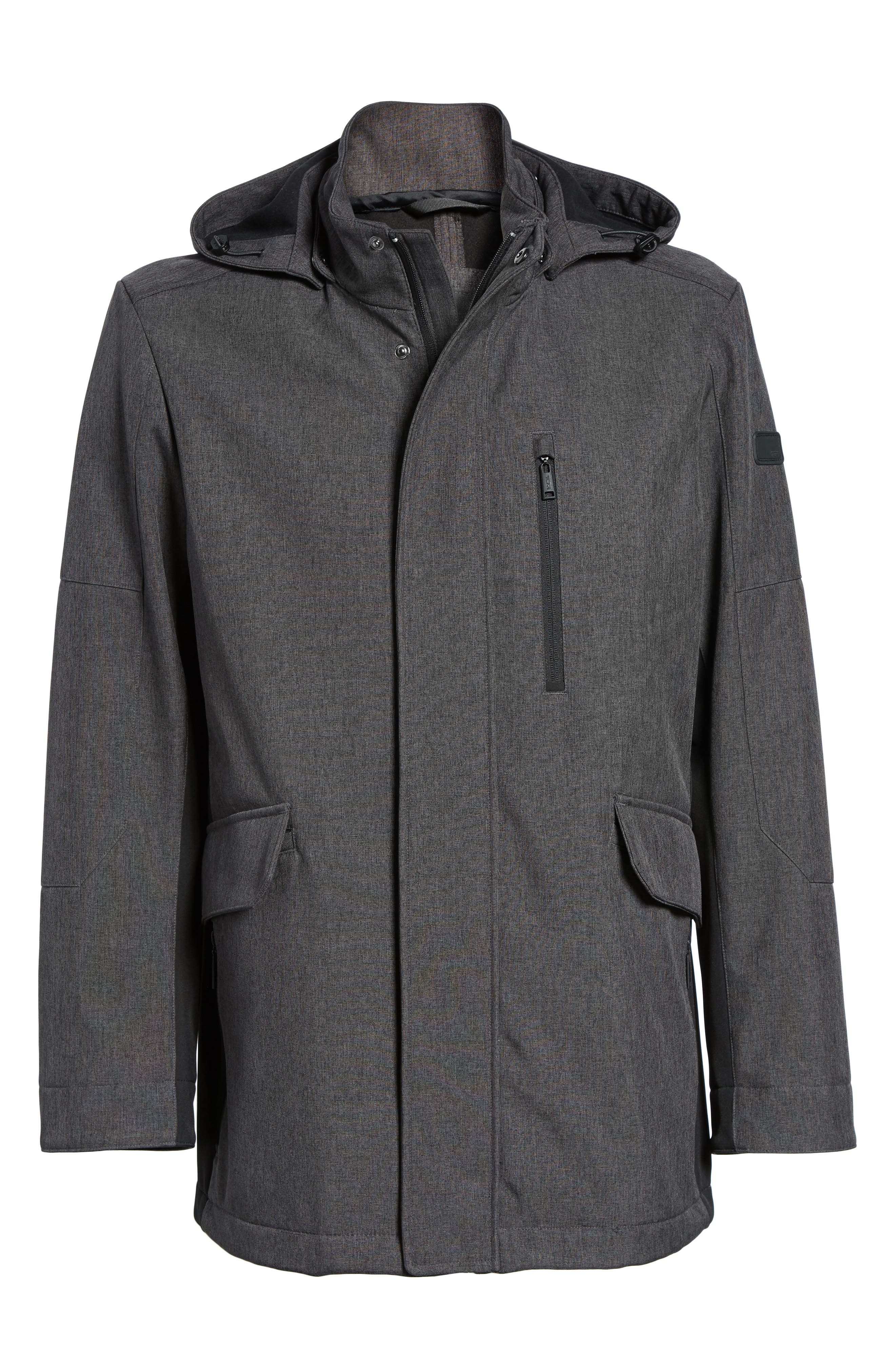 Alternate Image 5  - Tumi Understated Commuter Water-Resistant Jacket with Removable Hood