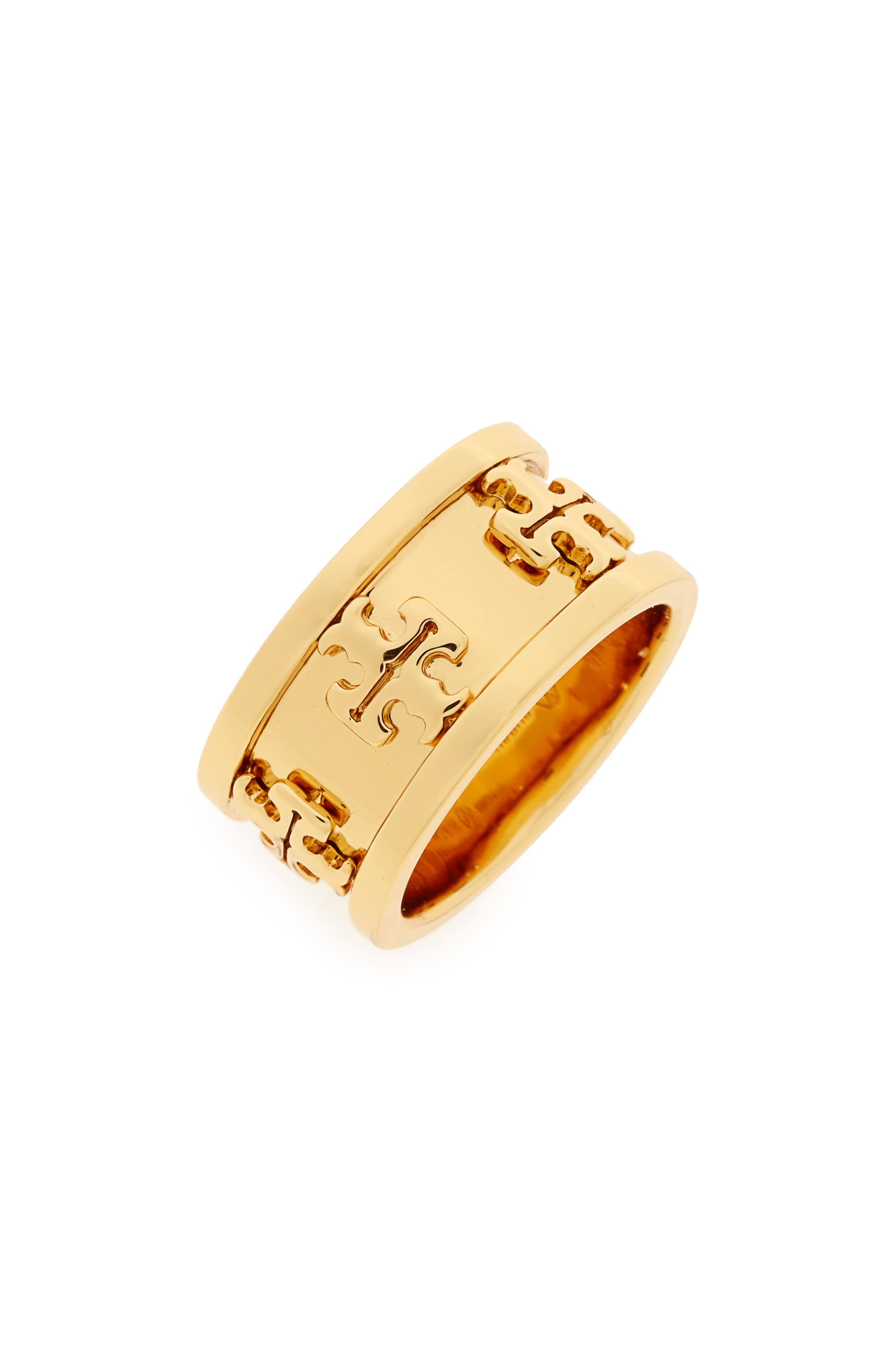TORY BURCH Raised Logo Ring