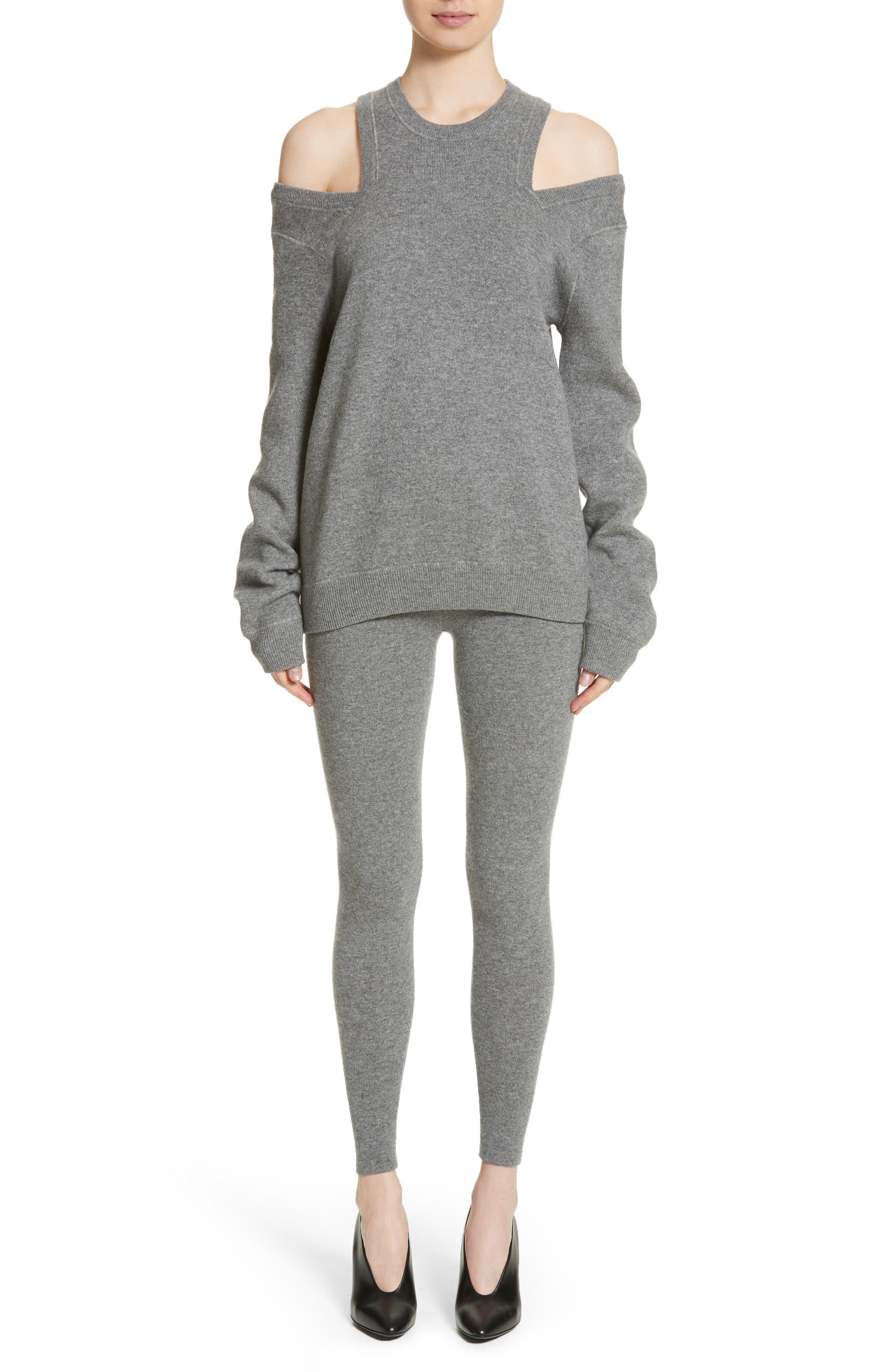 Alternate Image 7  - Michael Kors Cold Shoulder Sweater