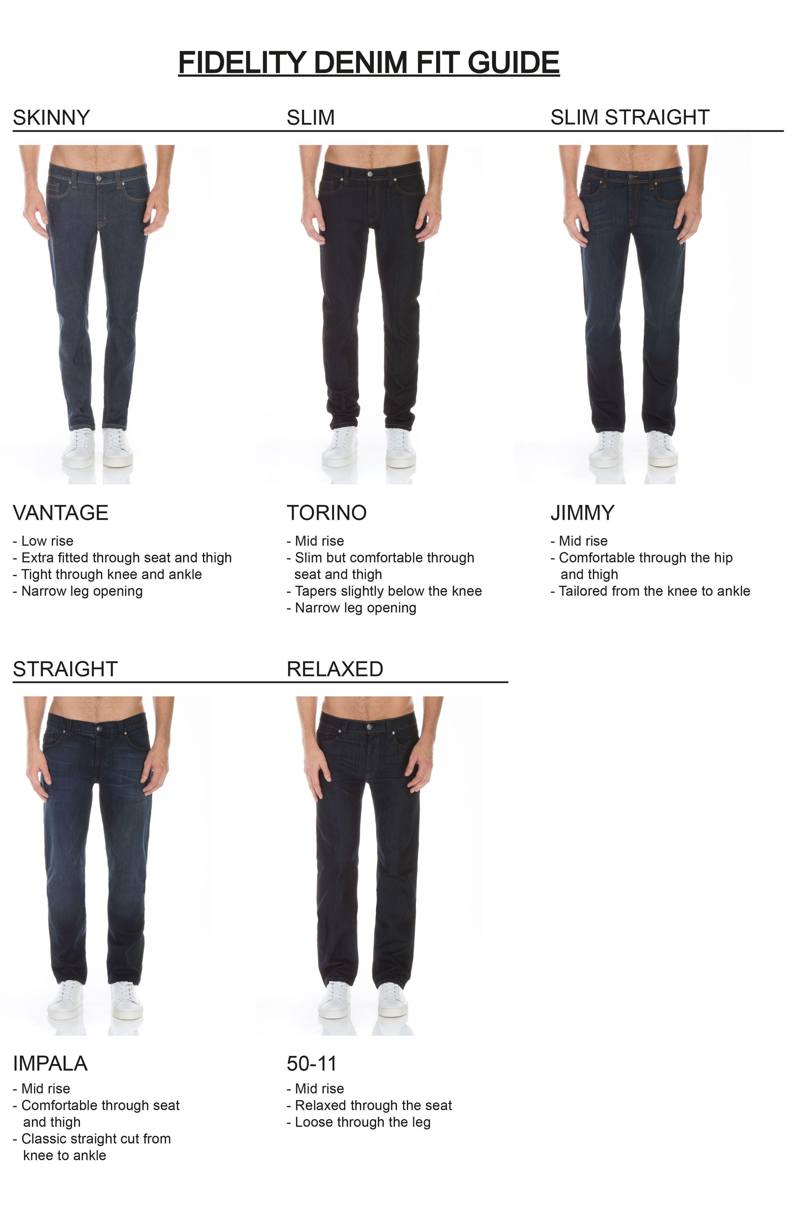 Alternate Image 5  - Fidelity Denim Torino Slim Fit Jeans (Capital Blue)