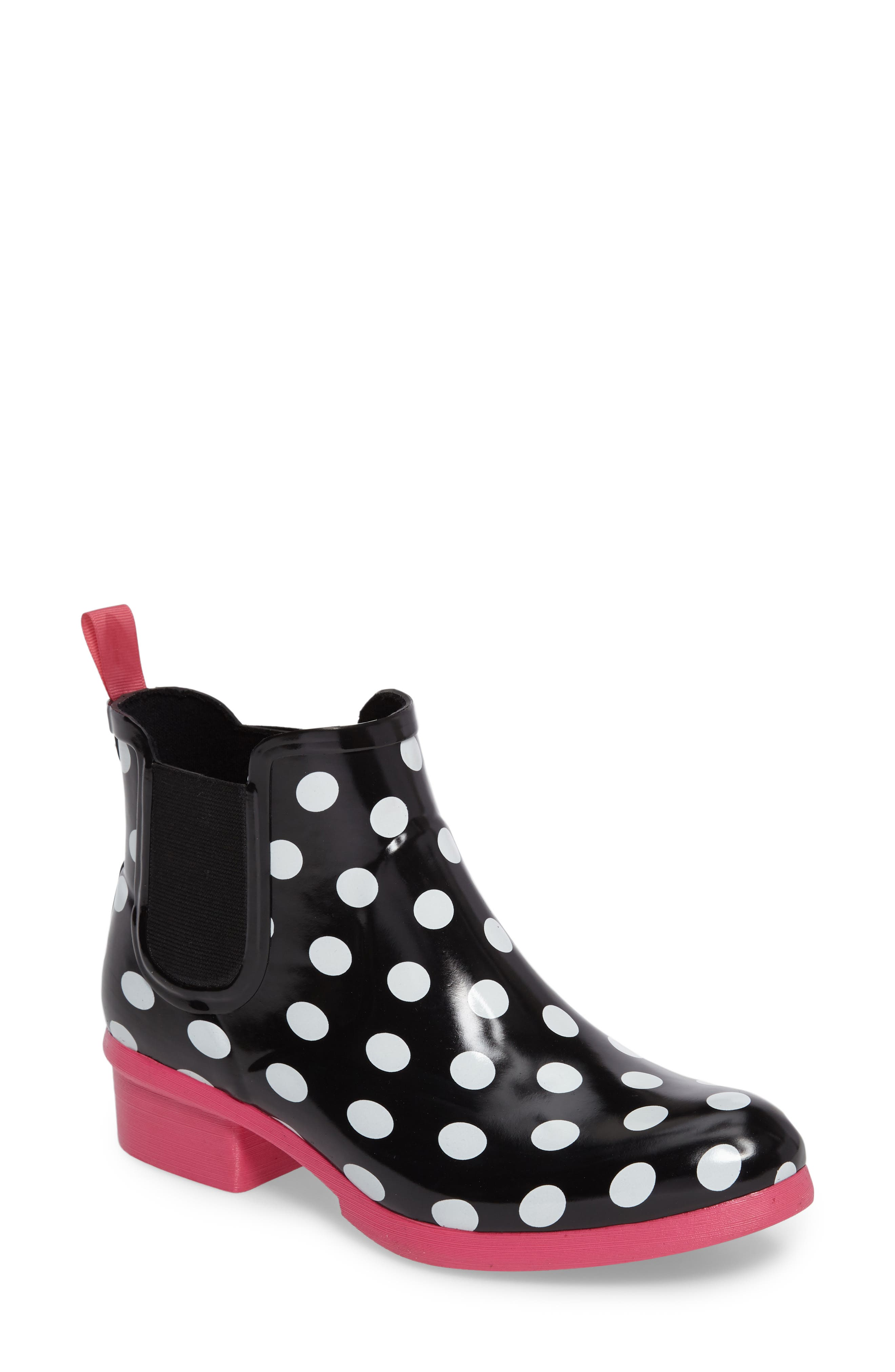 Main Image - kate spade new york trudy chelsea rain bootie (Women)