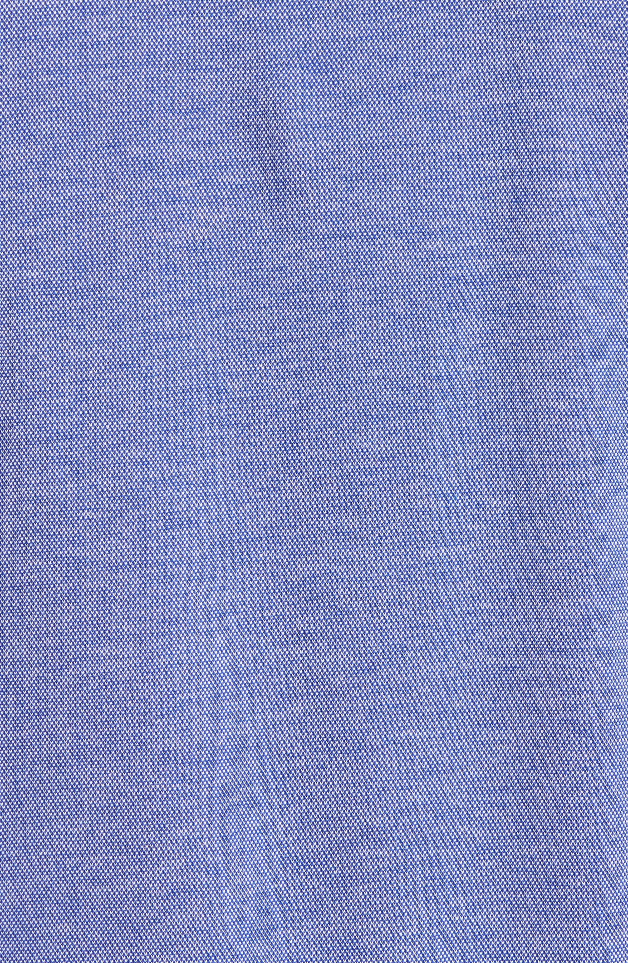 Alternate Image 5  - Ted Baker London Leeds Oxford Modern Slim Fit Polo
