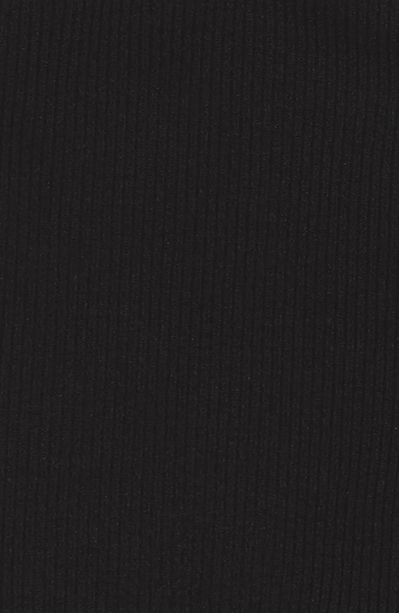 Criss Cross Bandeau Bralette,                             Alternate thumbnail 2, color,                             Black