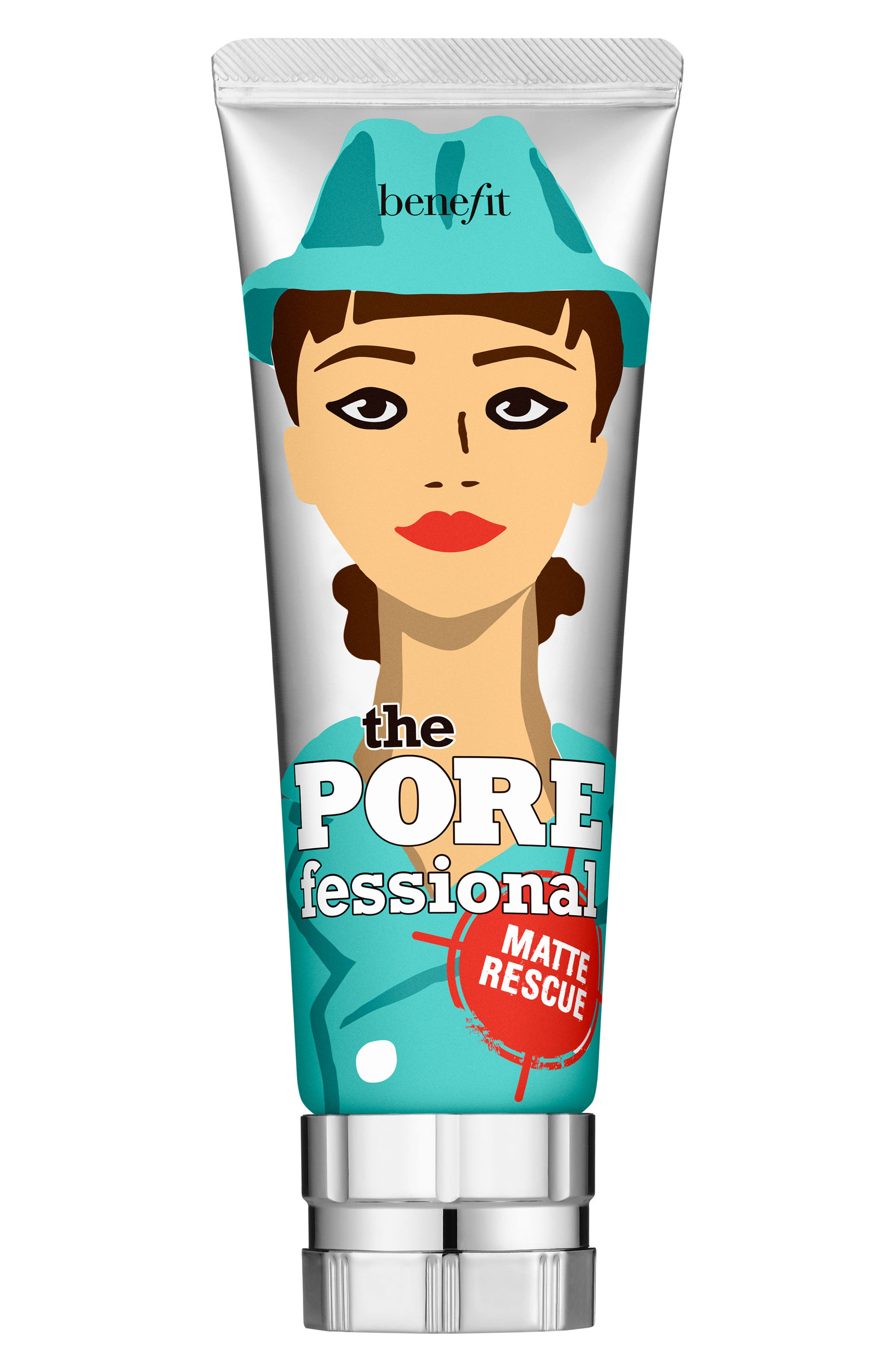 Benefit The POREfessional Matte Rescue Mattifying Gel,                         Main,                         color, Blue/ Green