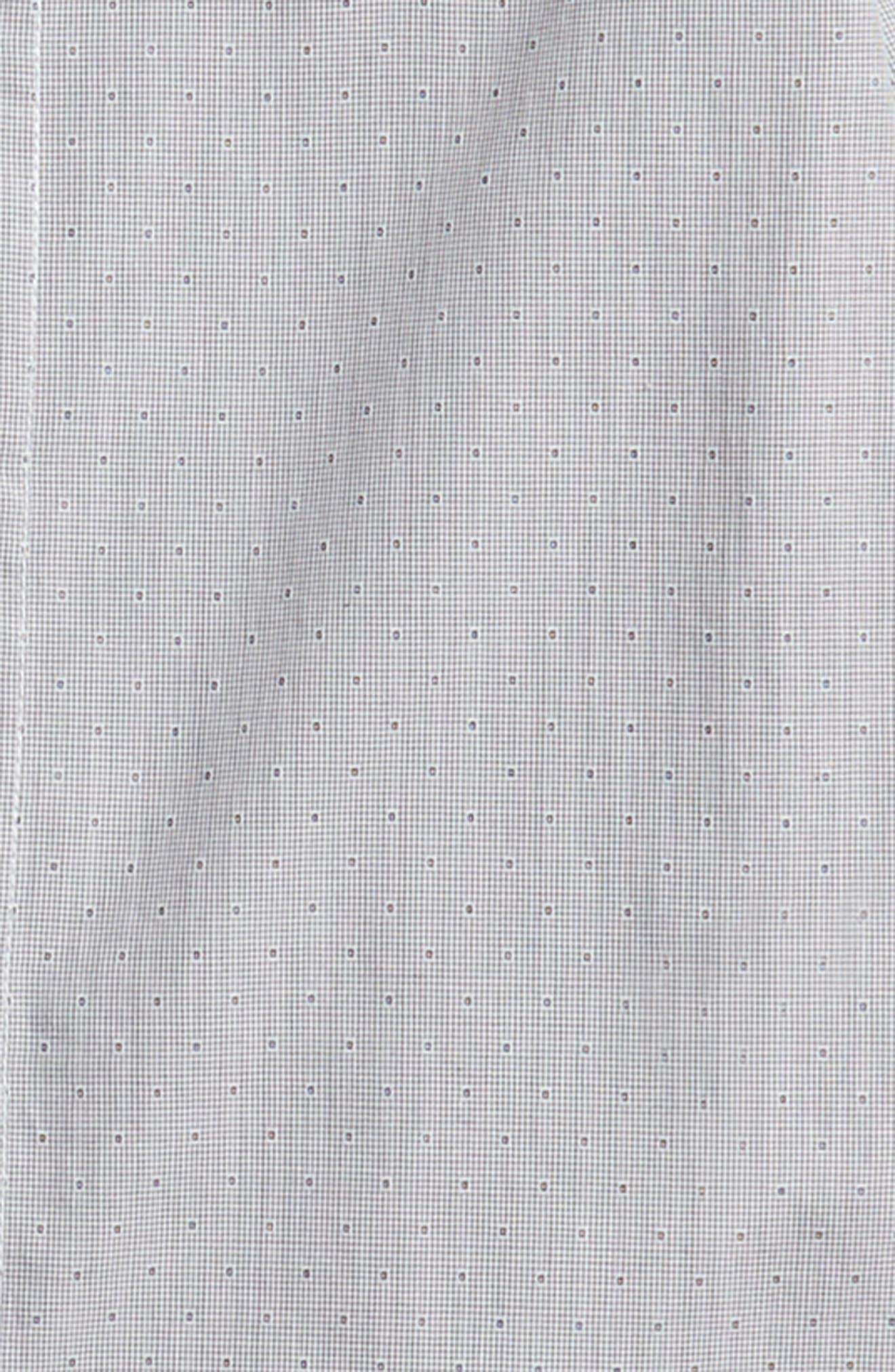 Alternate Image 2  - Armani Junior Stripe Dress Shirt (Little Boys & Big Boys)