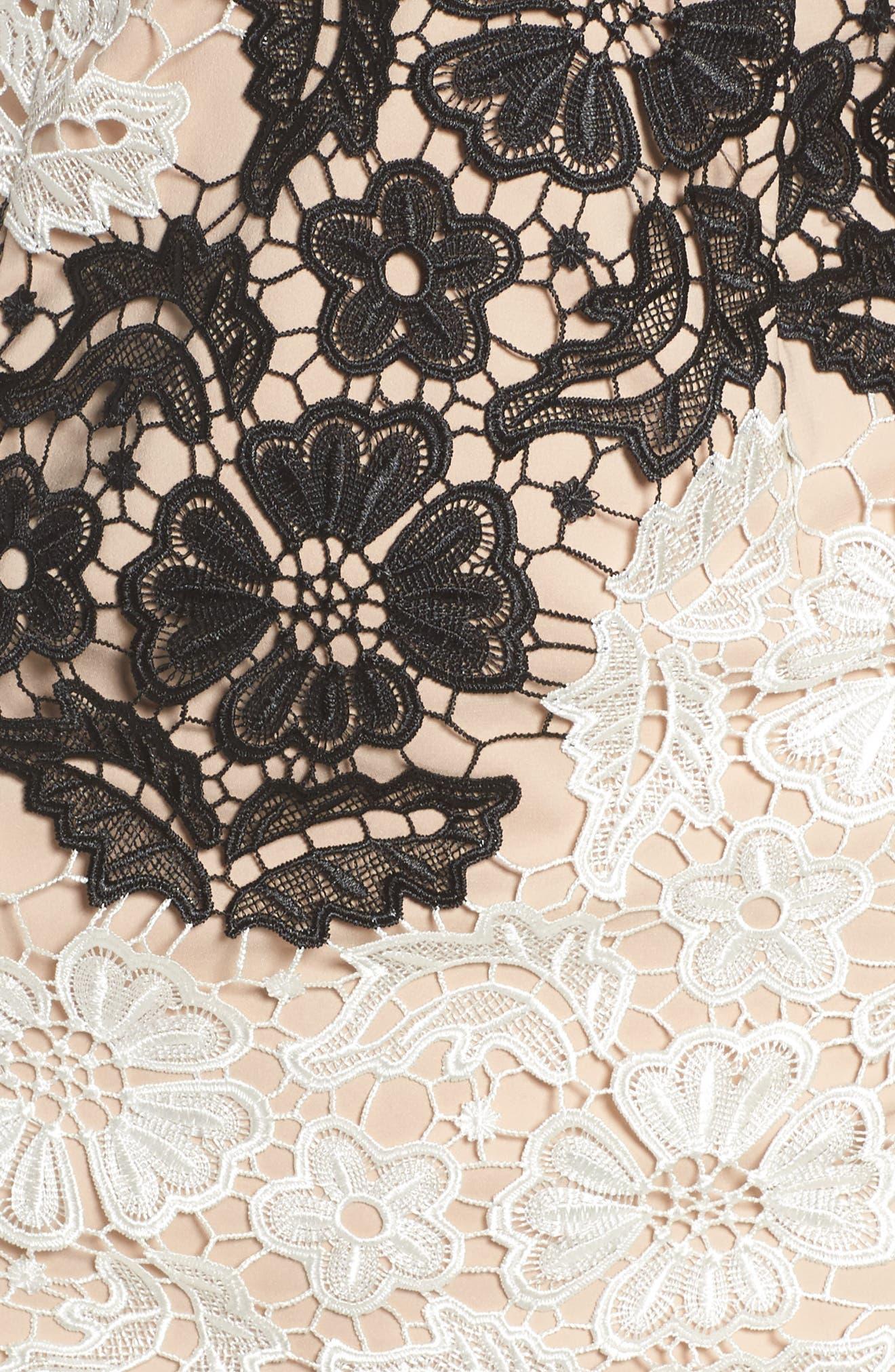 Alternate Image 5  - Bardot Eve Lace Sheath Dress