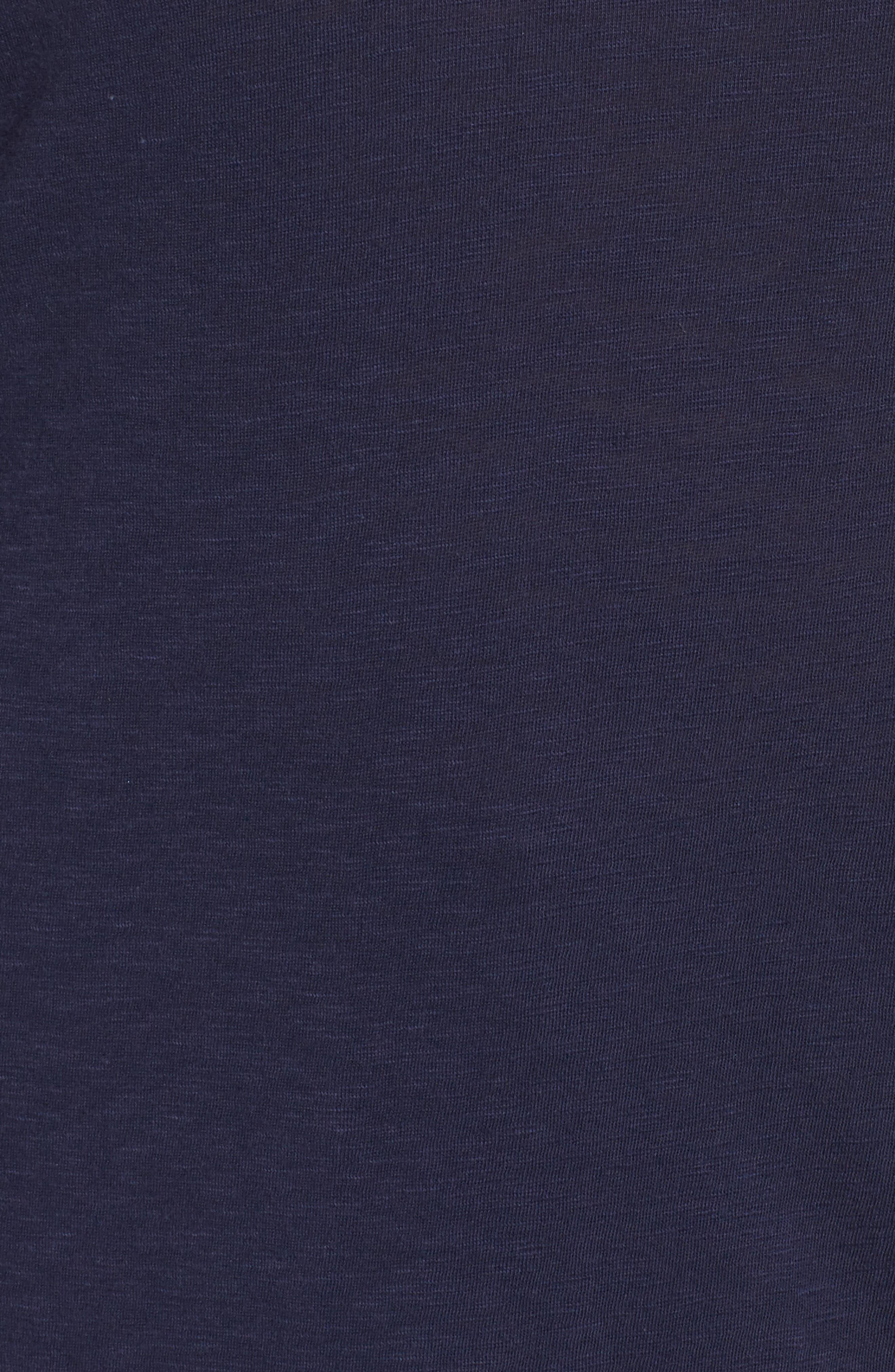 Long Sleeve Crewneck Tee,                             Alternate thumbnail 36, color,                             Navy Peacoat