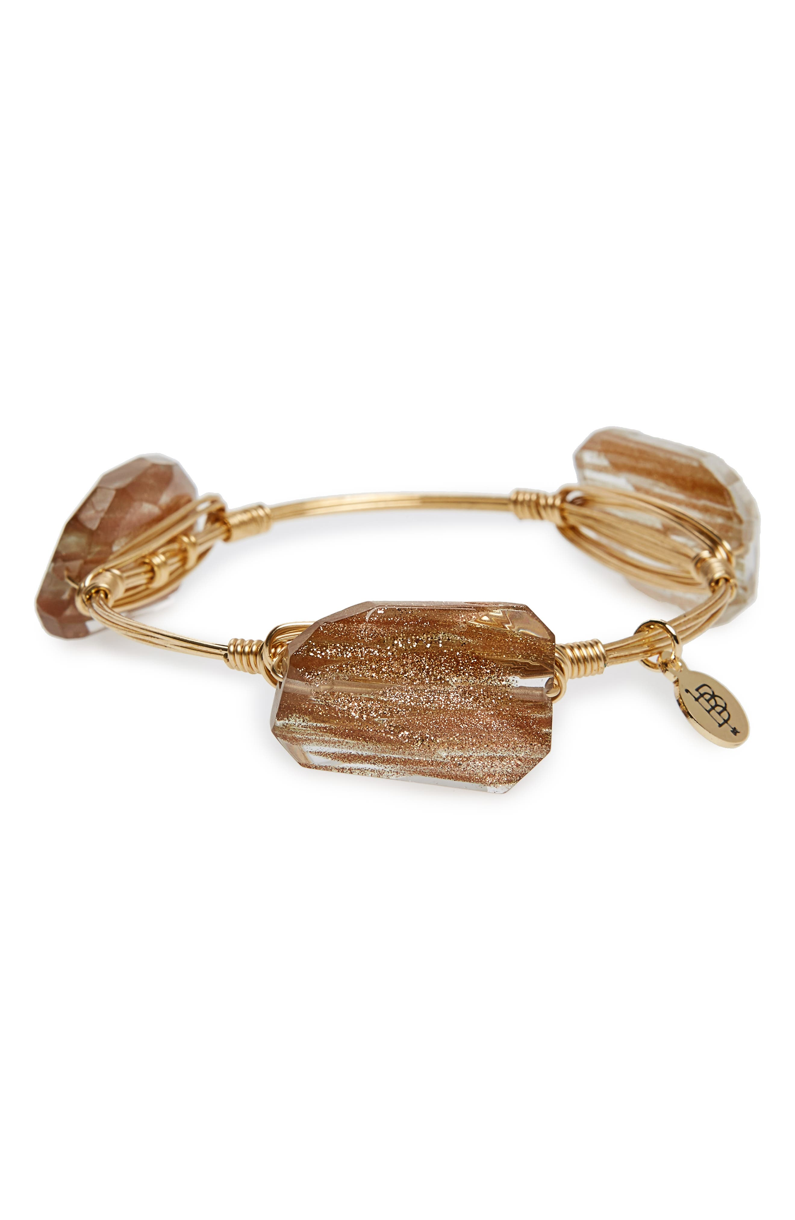 Bourbon and Boweties Wire Bracelet