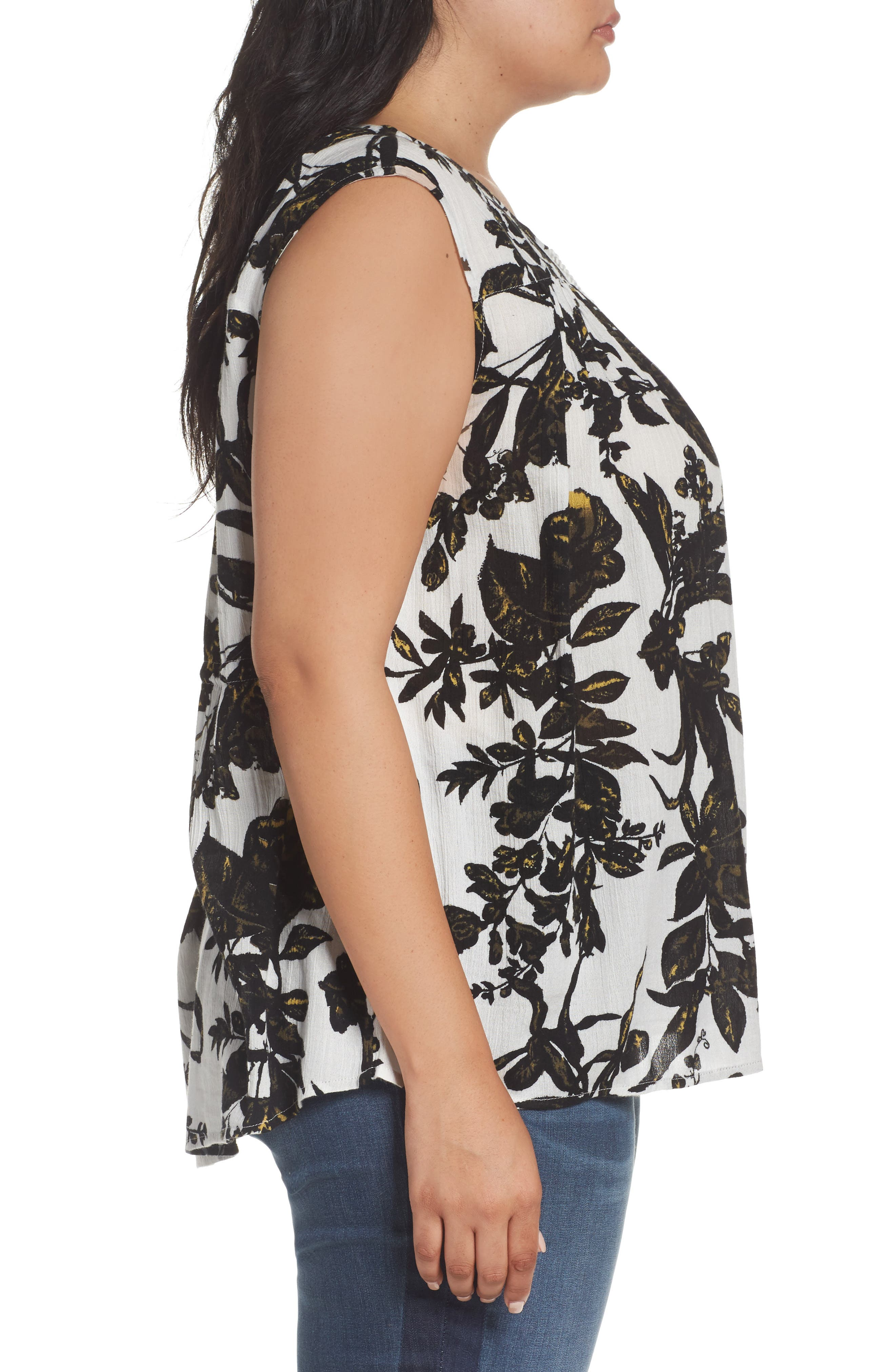 Alternate Image 3  - Caslon® Print Sleeveless Top