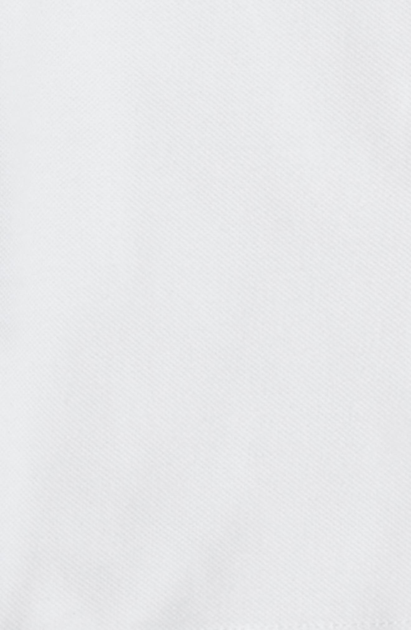 Long Sleeve Piqué Polo,                             Alternate thumbnail 2, color,                             White