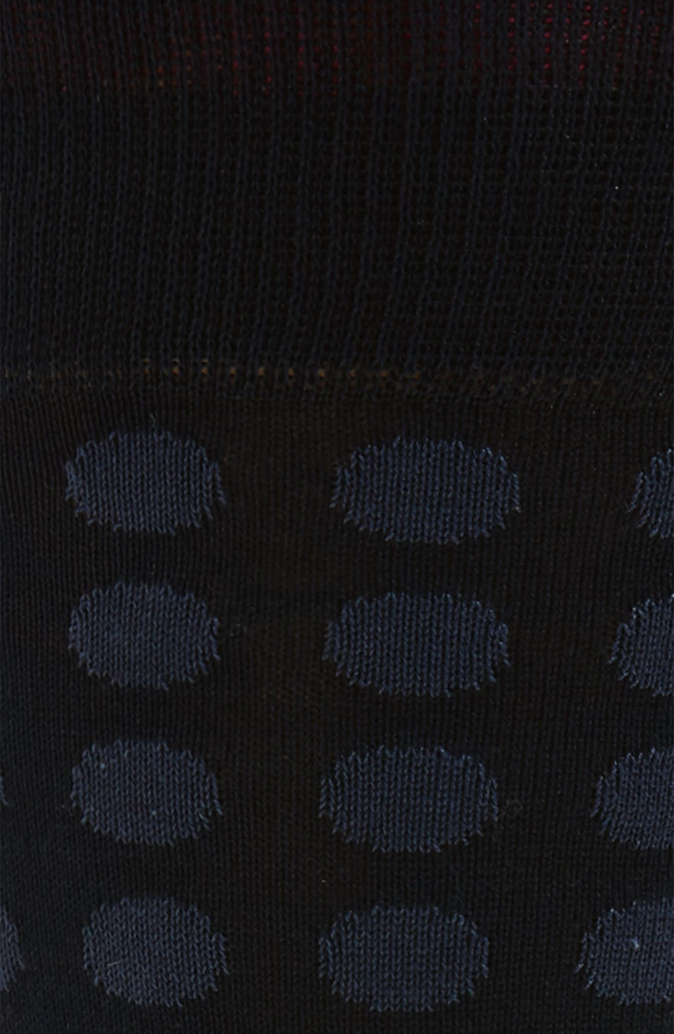 Alternate Image 2  - Bugatchi Dot Crew Socks
