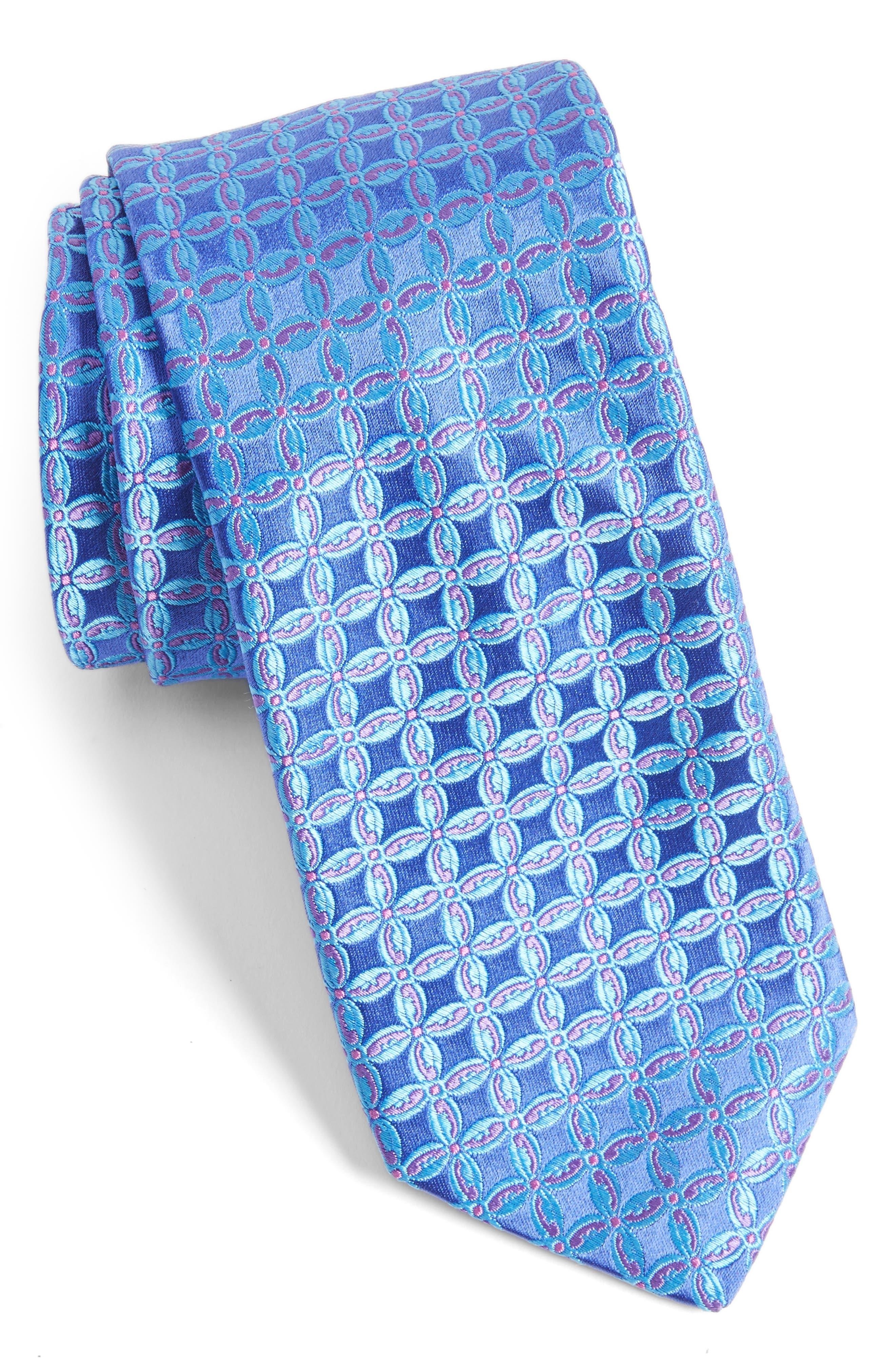 Alternate Image 1 Selected - Ted Baker London Geometric Silk Tie