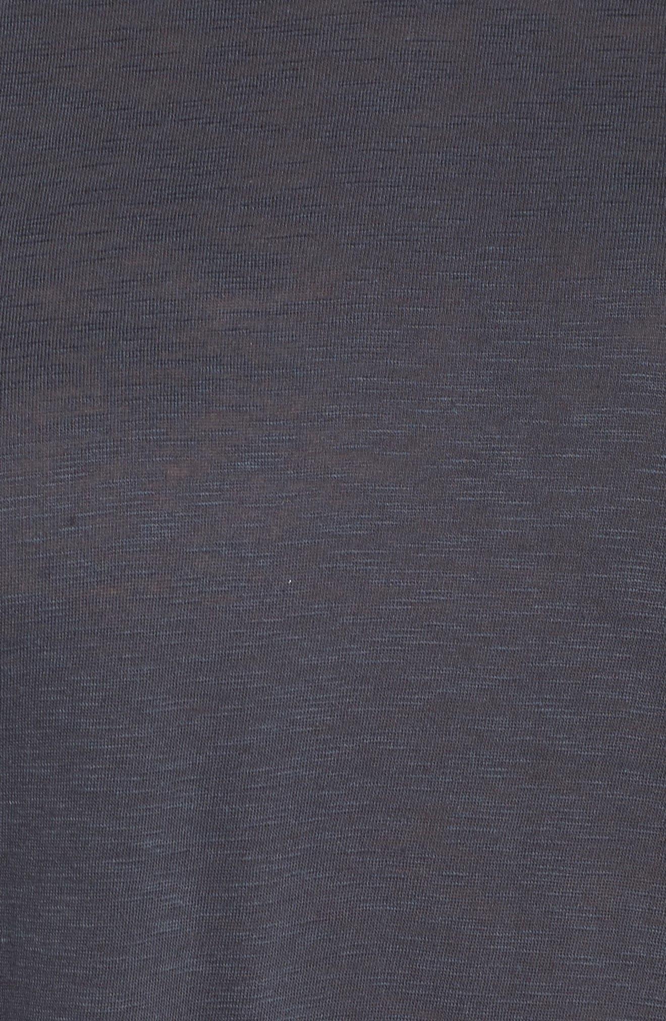 Long Sleeve Crewneck Tee,                             Alternate thumbnail 35, color,                             Grey Ebony