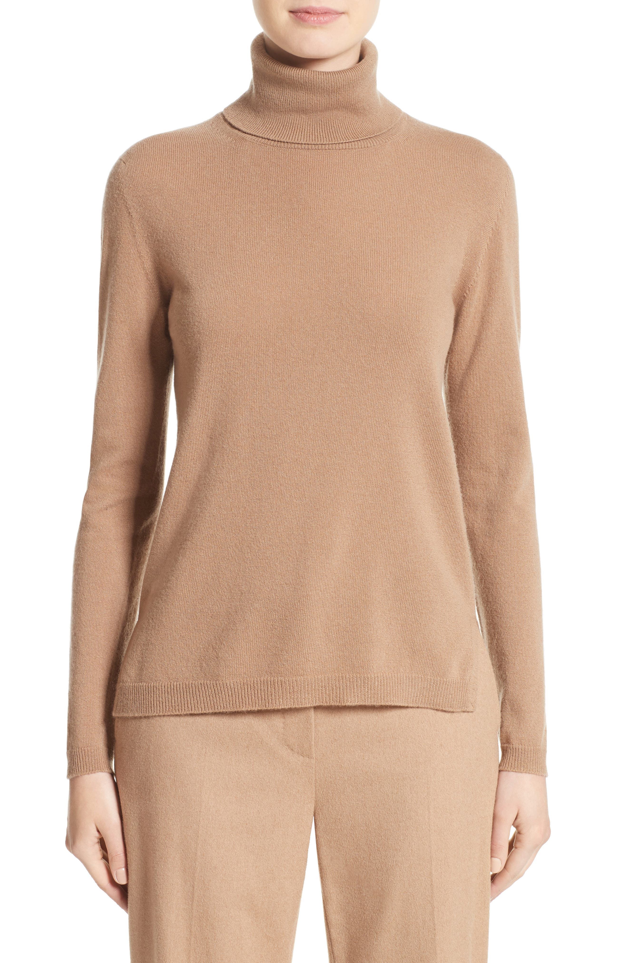 Max Mara Nigeria Wool & Cashmere Turtleneck Sweater