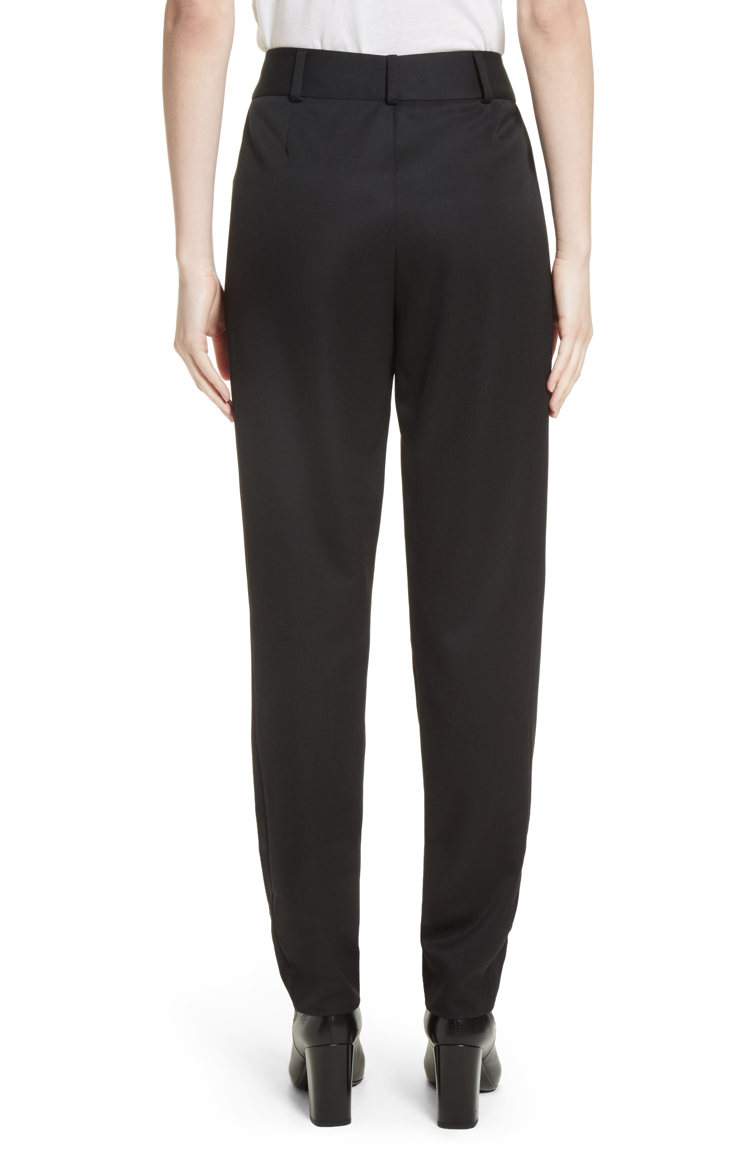 Alternate Image 2  - Saint Laurent Wool Pleated Pants