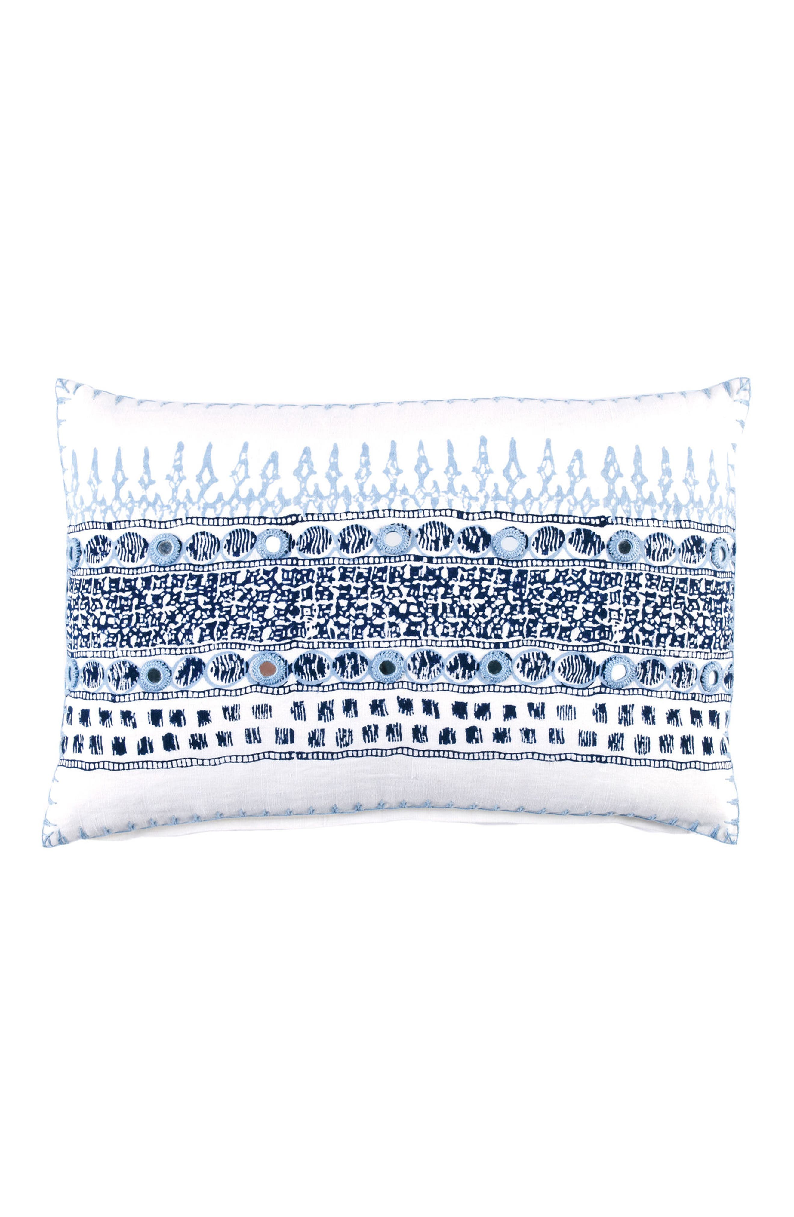 Primrose Accent Pillow,                         Main,                         color, Light Indigo