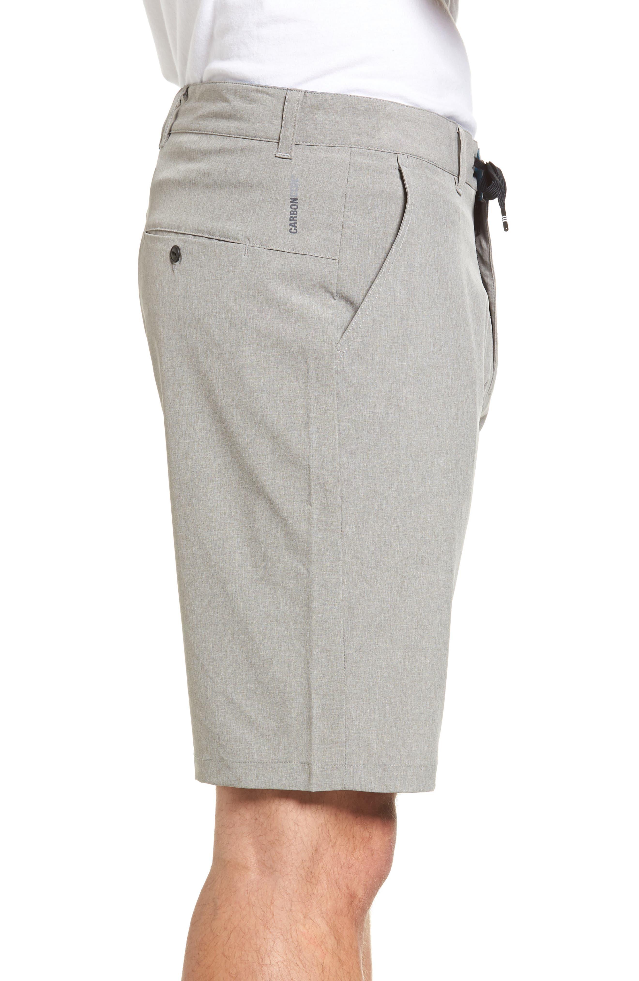 Freedom Carbon Cruiser Shorts,                             Alternate thumbnail 3, color,                             Grey