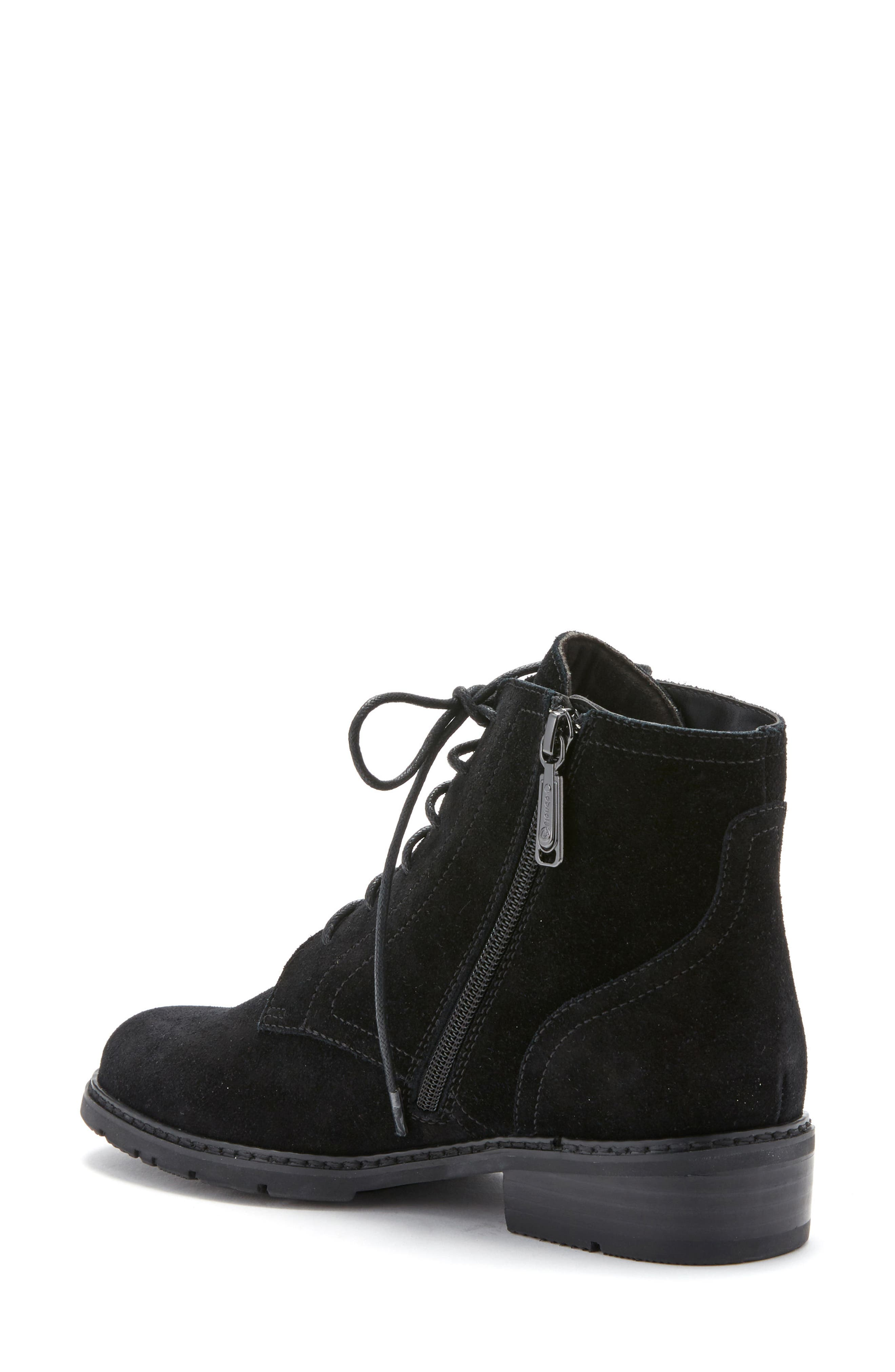 Vivi Waterproof Boot,                             Alternate thumbnail 2, color,                             Black Suede