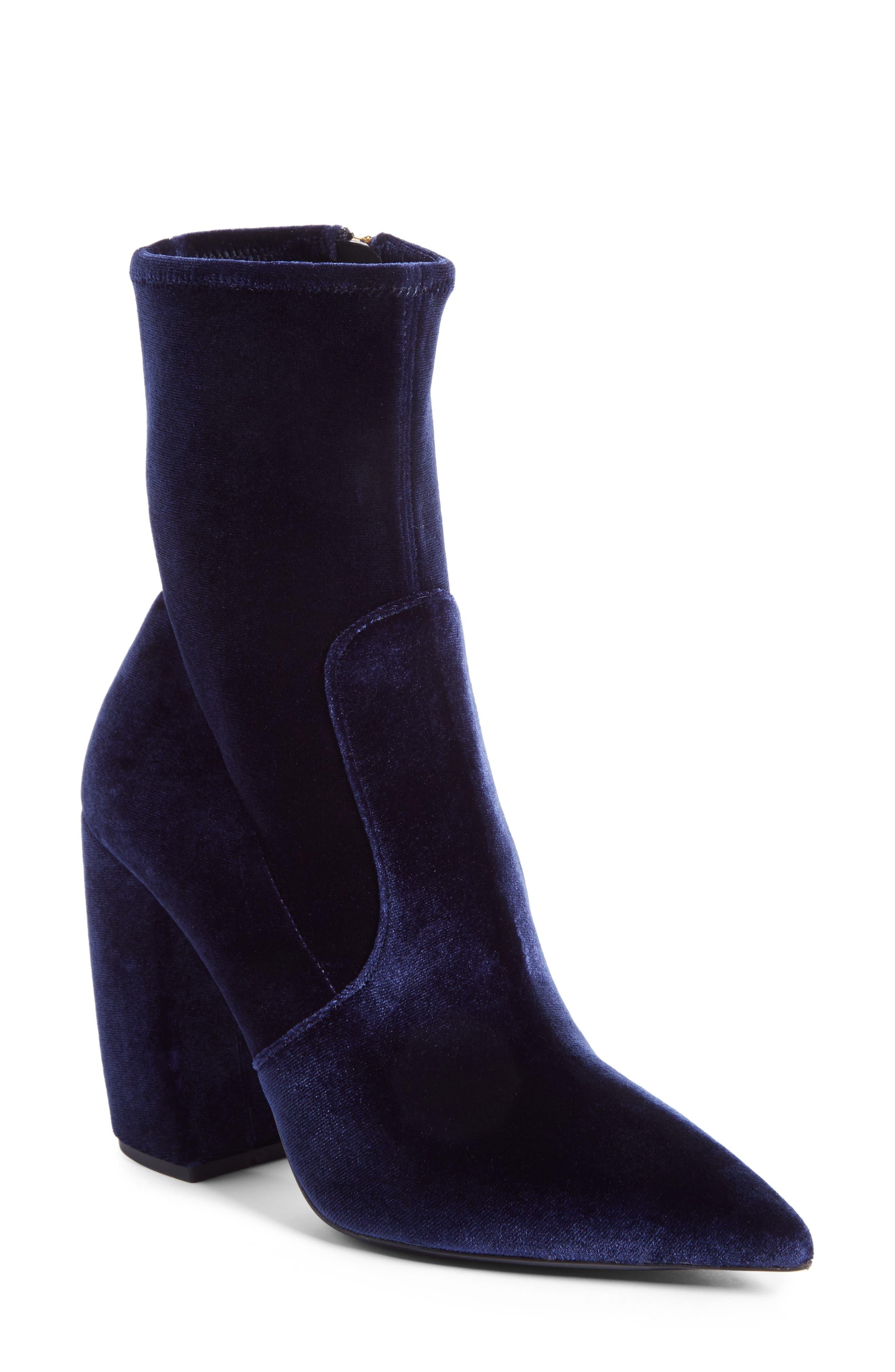 Alternate Image 1 Selected - Prada Block Heel Bootie (Women)
