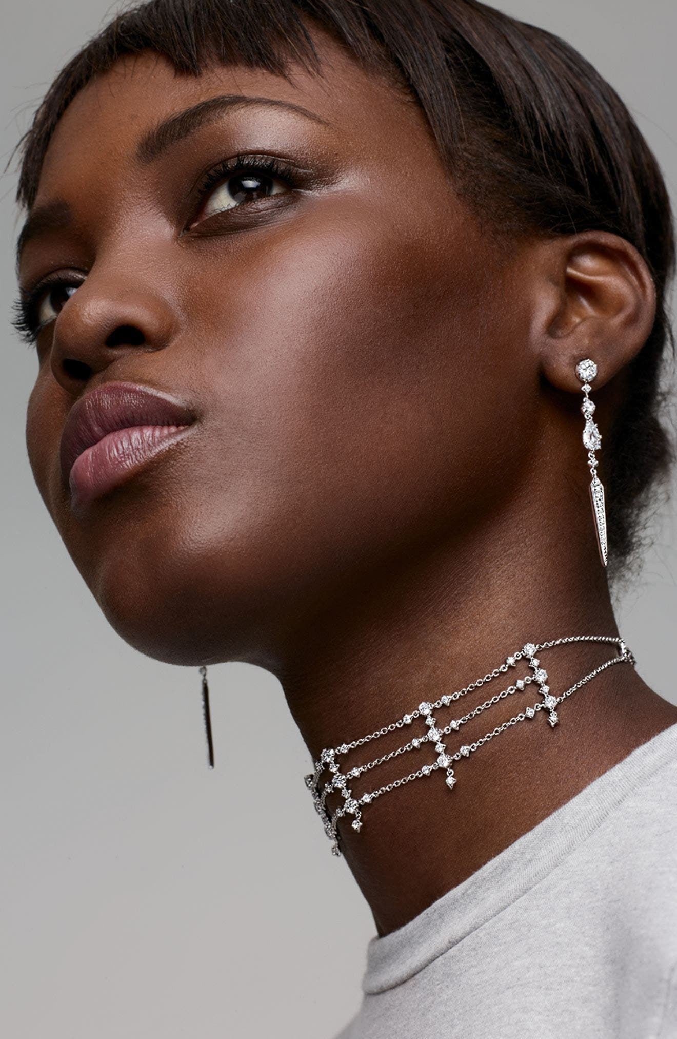 Alternate Image 3  - Nadri Dame Statement Earrings