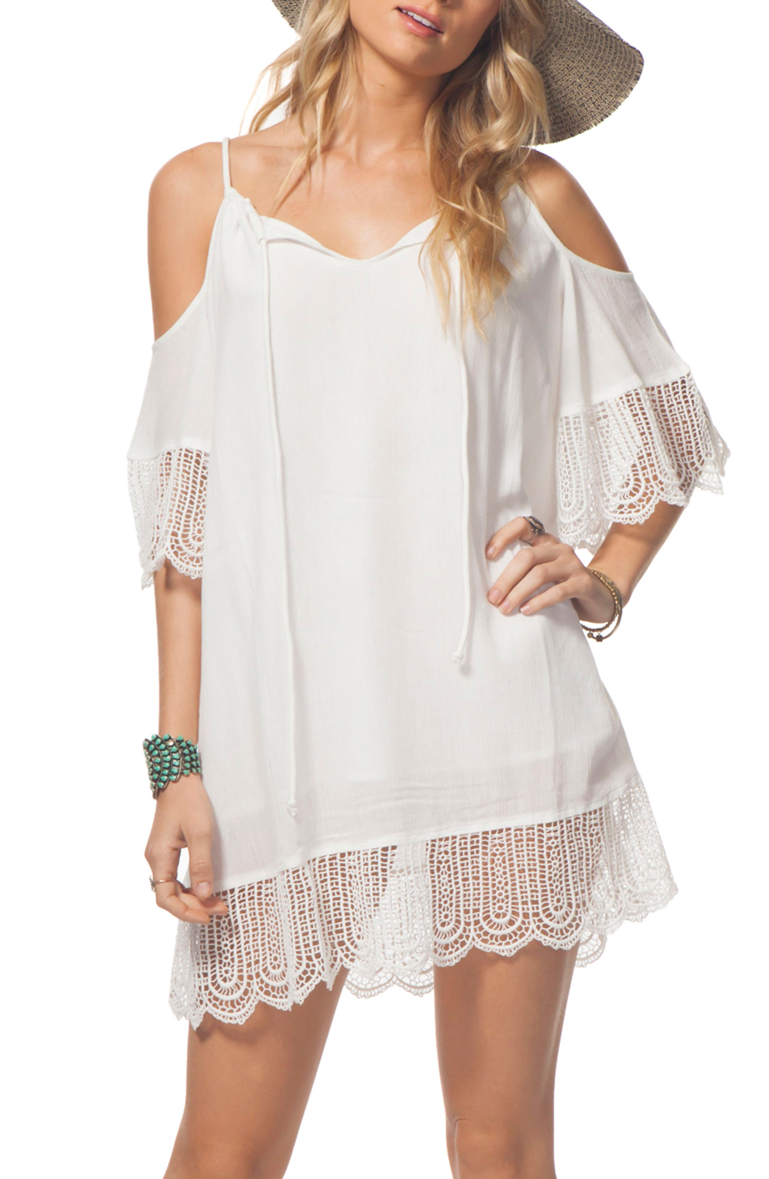 Rip Curl Badlands Cold Shoulder Dress