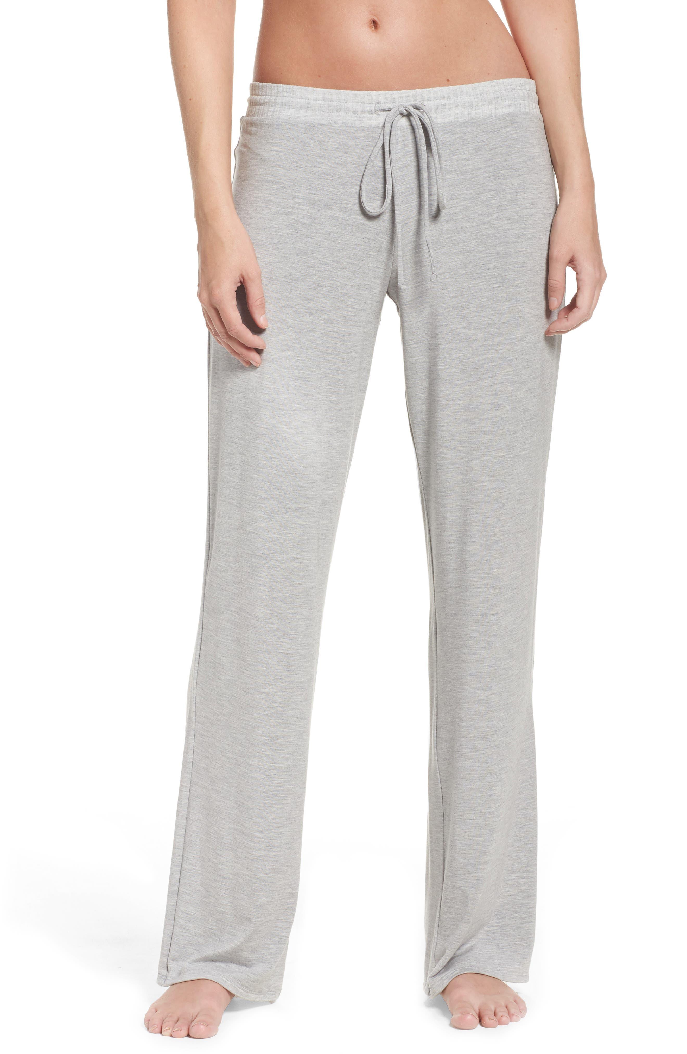 Chelsea Lounge Pants,                         Main,                         color, Heather Grey