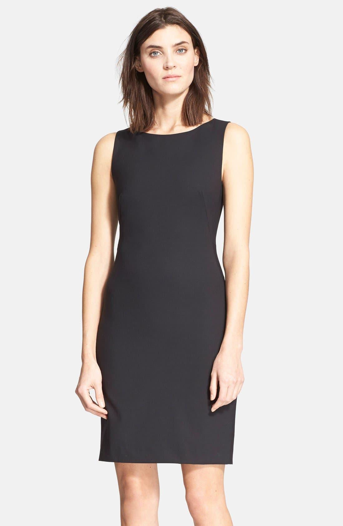 Main Image - Theory 'Betty.2B' Stretch Wool Sheath Dress