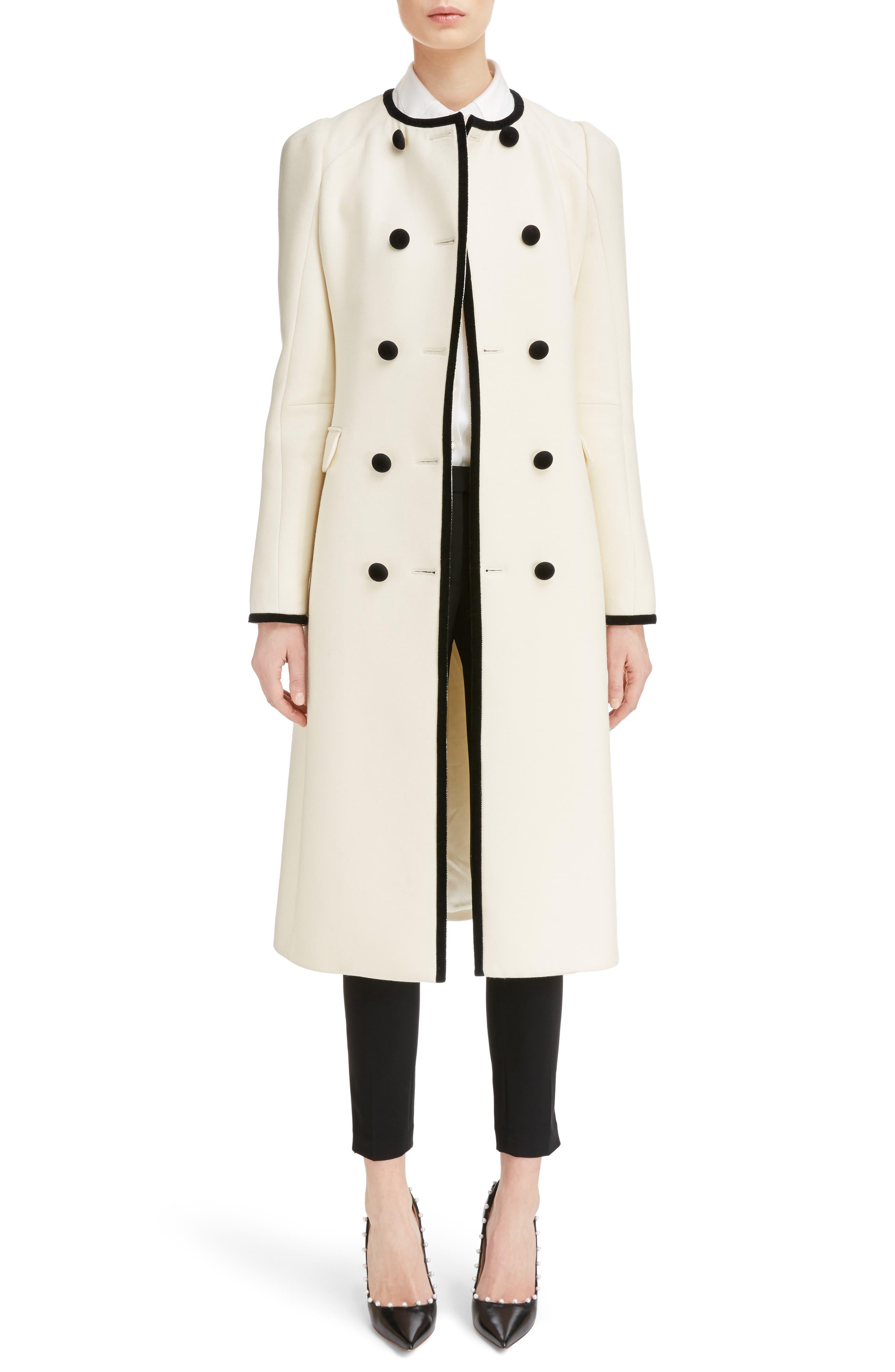 Altuzarra Bellasio Double Breasted Wool Coat