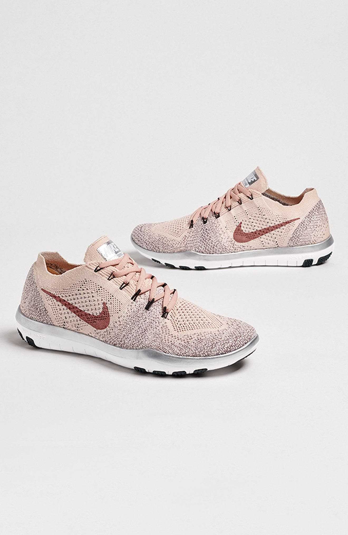 Alternate Image 7  - Nike Free Focus Flyknit 2 Bionic Training Shoe (Women)