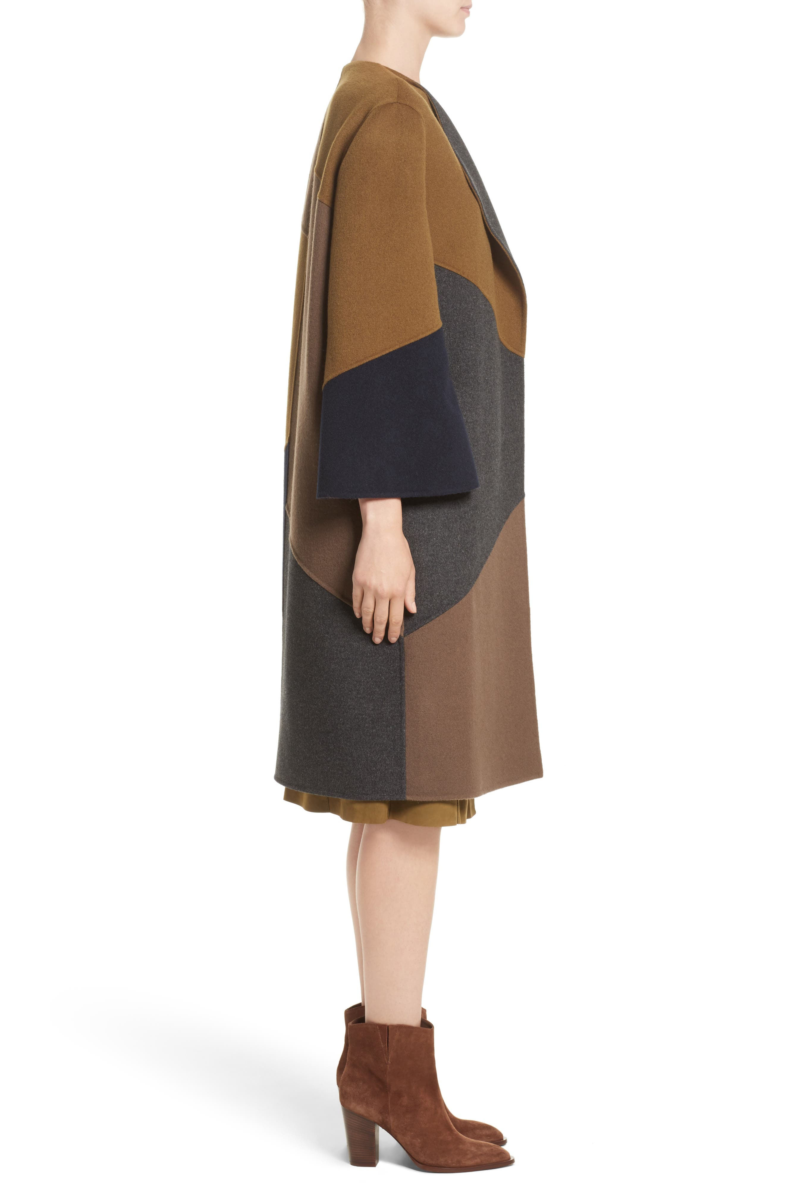 Alternate Image 3  - Lafayette 148 New York Belissa Double Face Reversible Coat