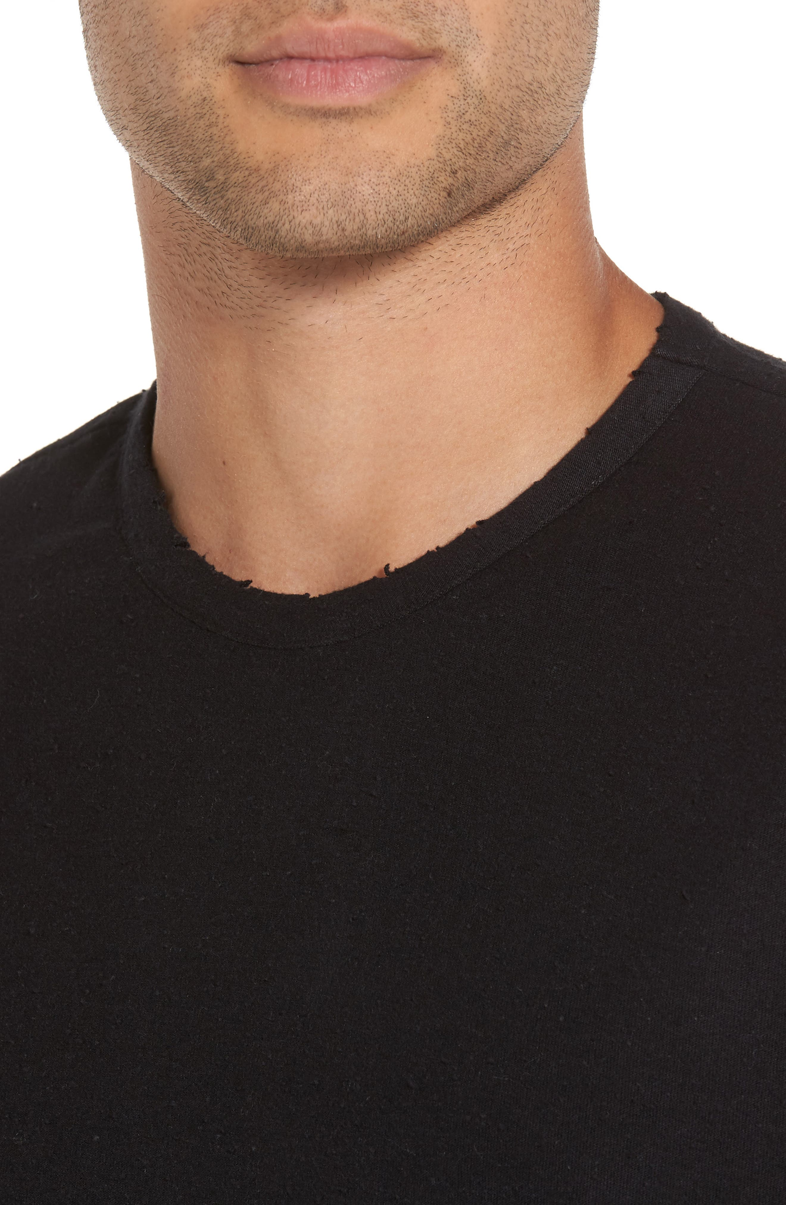 Alternate Image 4  - Treasure & Bond Nep Crewneck T-Shirt