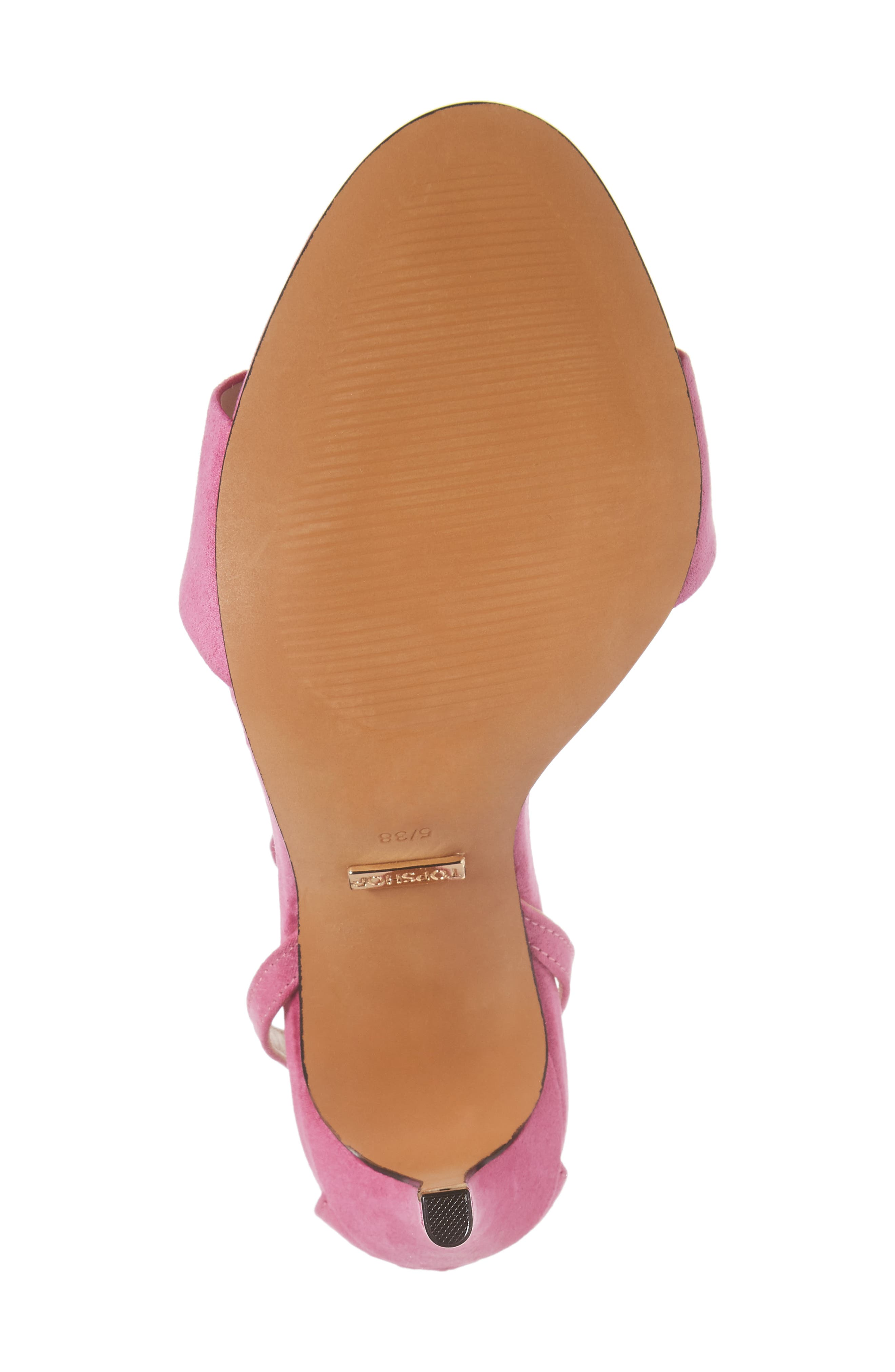 Alternate Image 6  - Topshop Raphael New Genuine Calf Hair Sandal (Women)