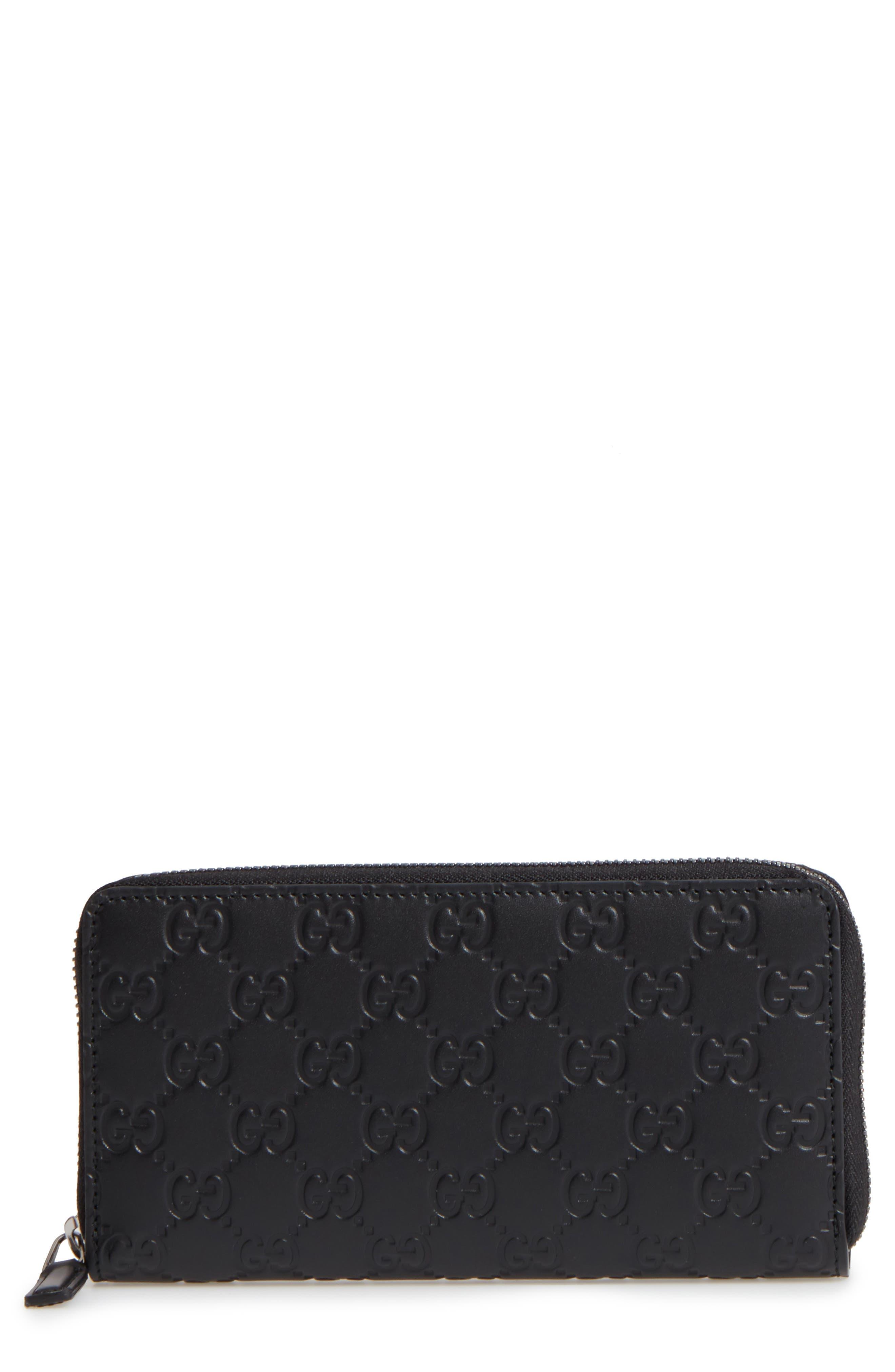 Alternate Image 1 Selected - Gucci Avel Zip Wallet