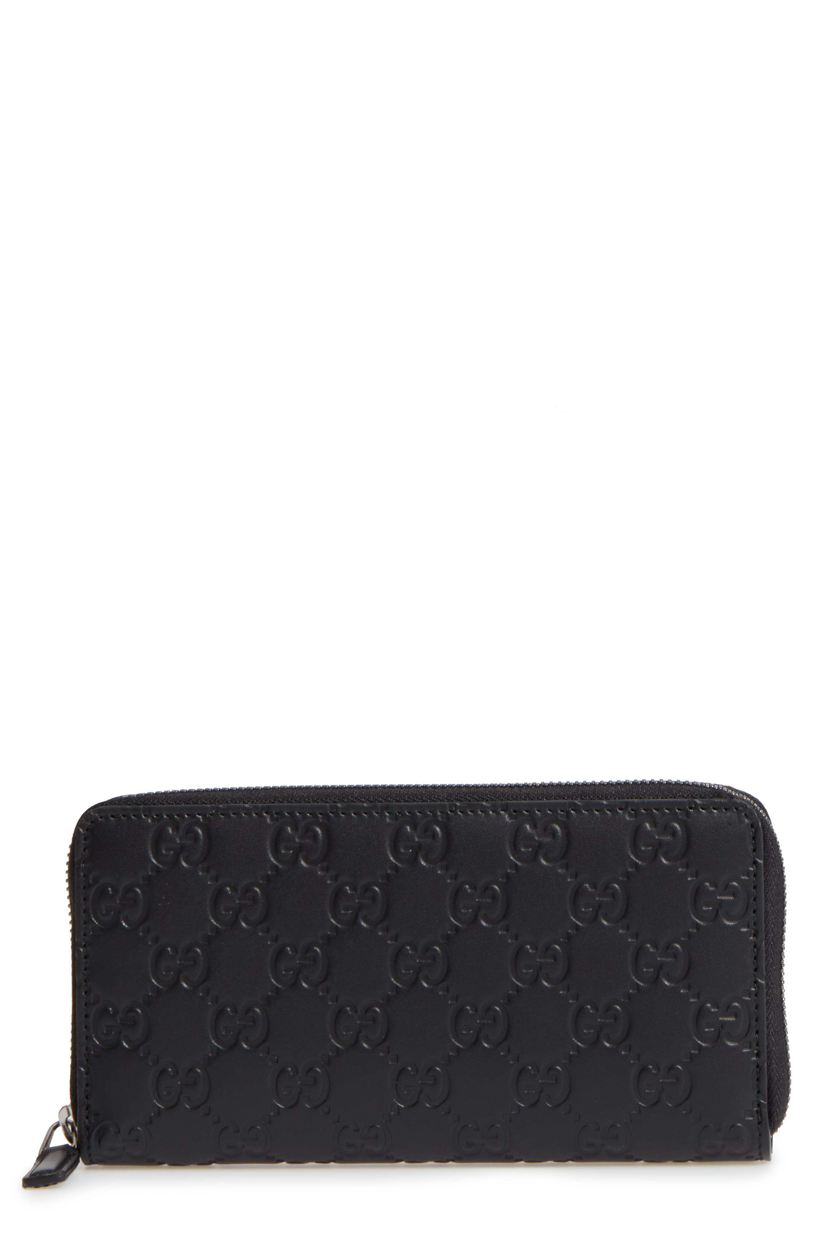 Main Image - Gucci Avel Zip Wallet